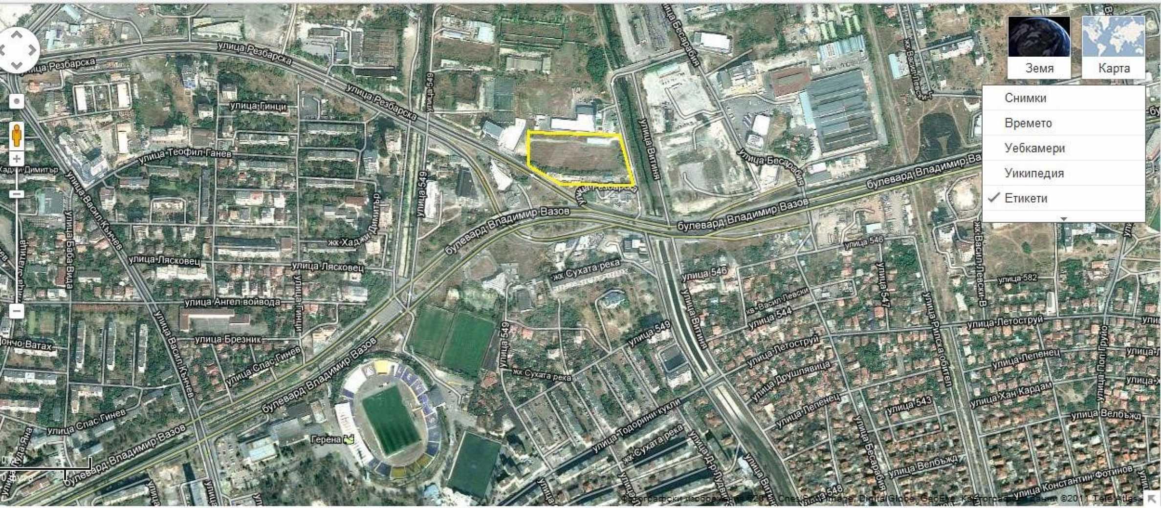 Парцел с проект за офисна сграда в София 10