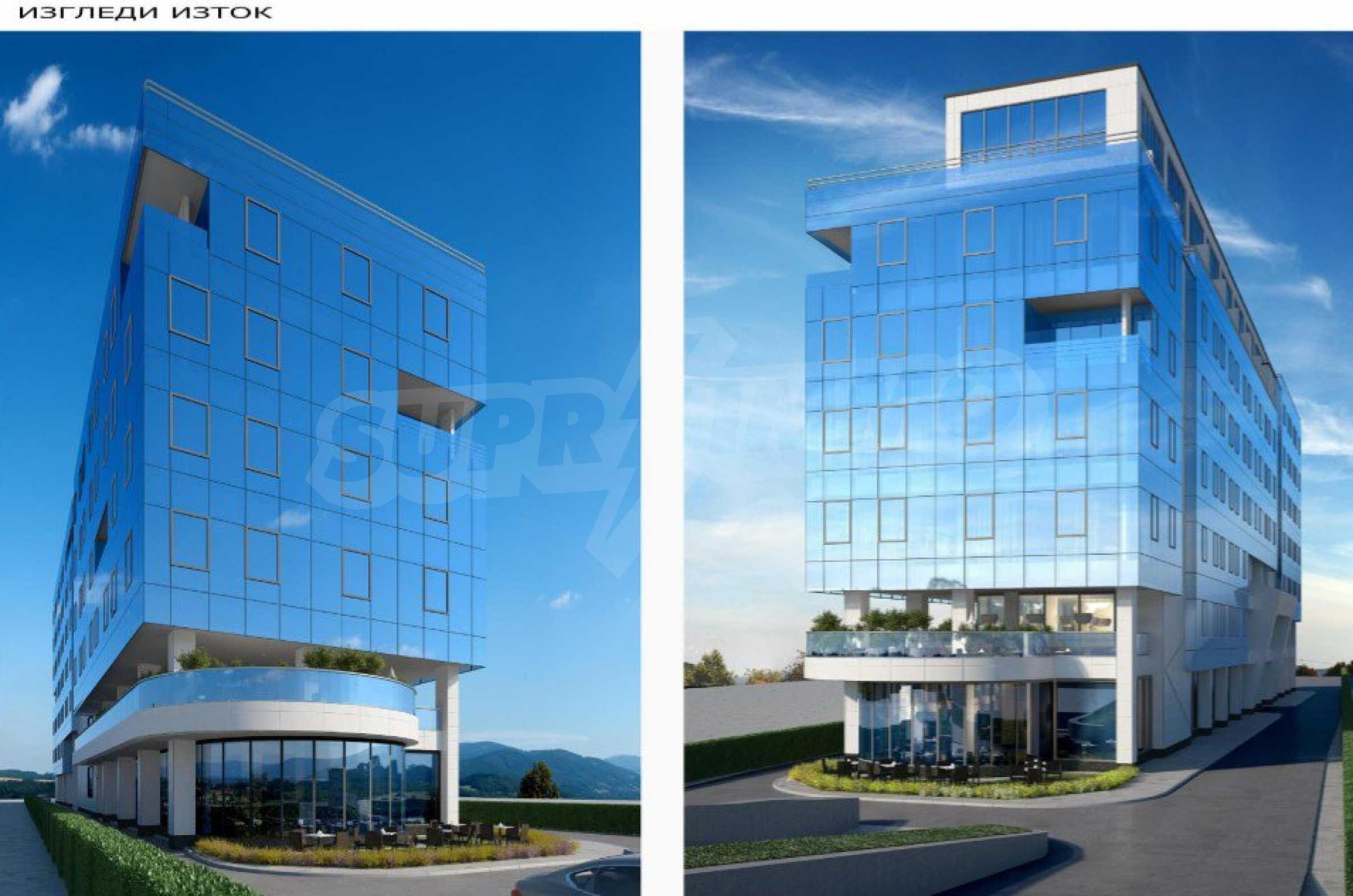 Парцел с проект за офисна сграда в София 5