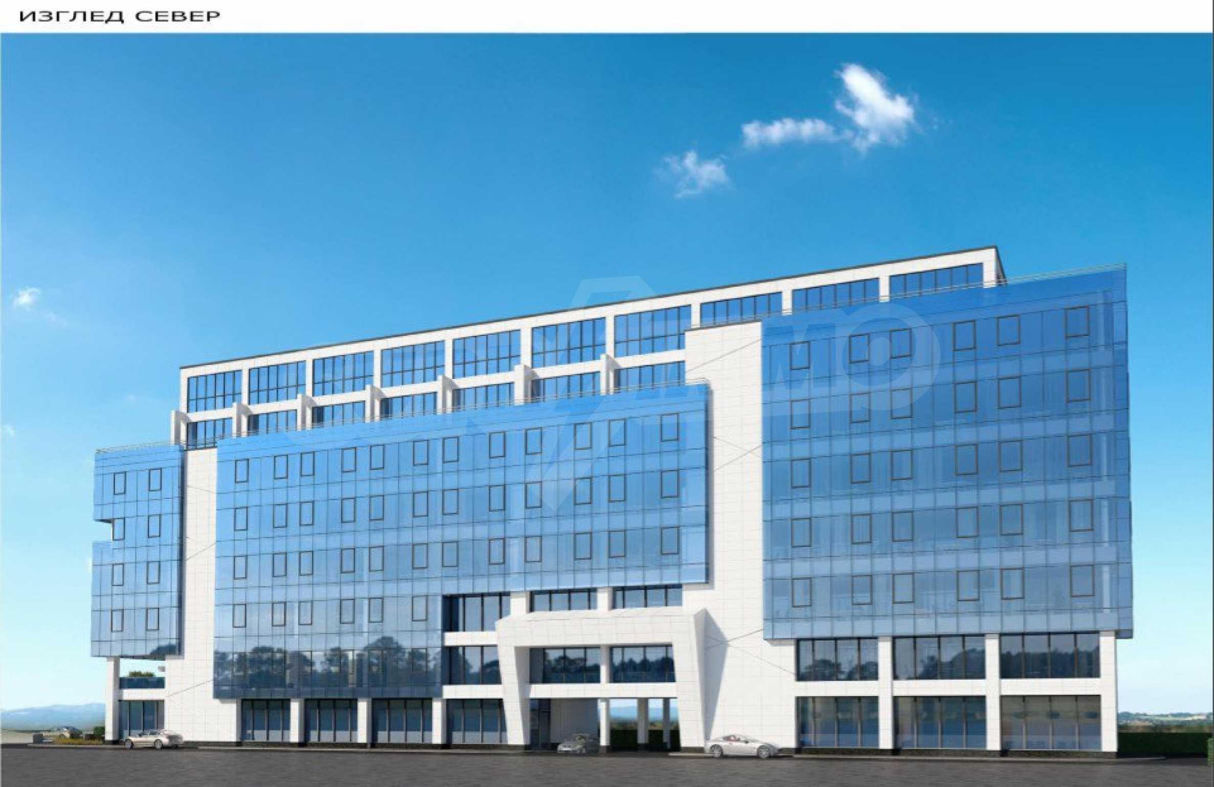 Парцел с проект за офисна сграда в София 6