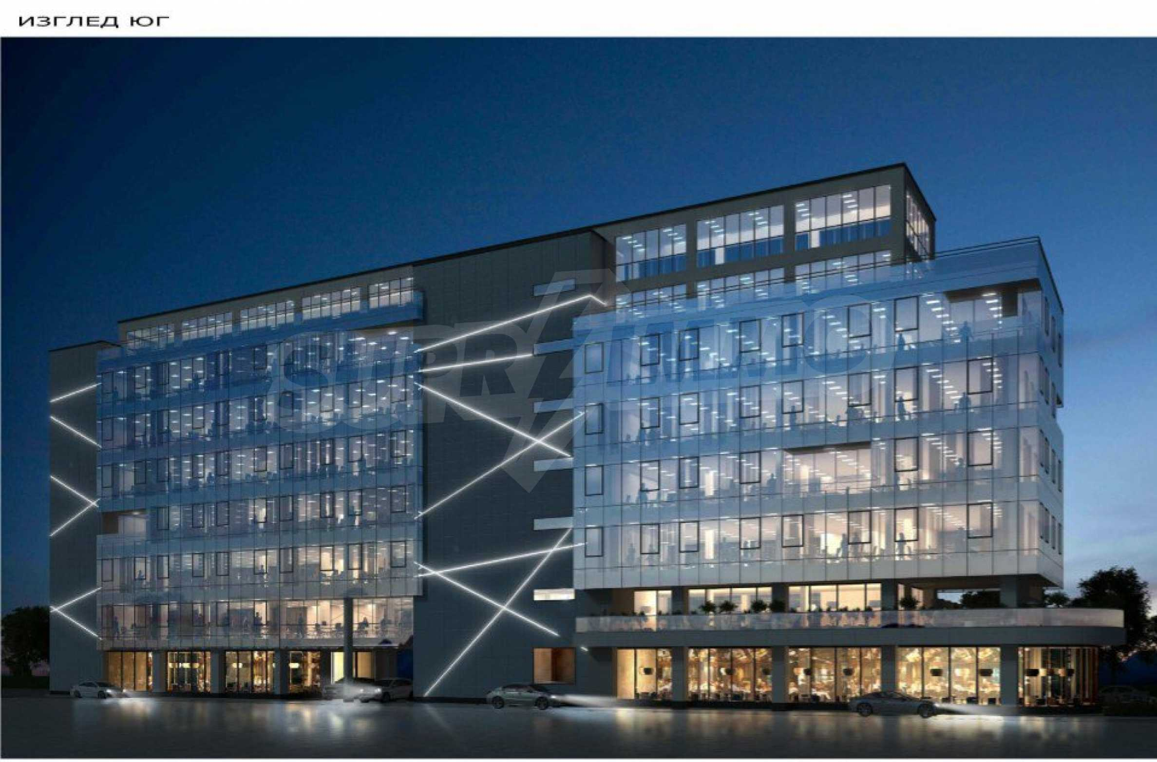 Парцел с проект за офисна сграда в София 7