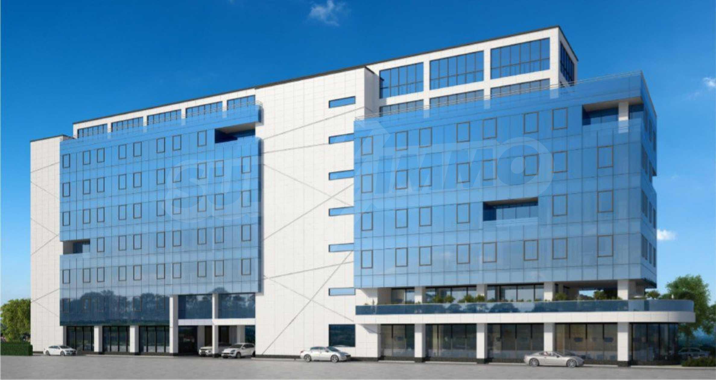 Парцел с проект за офисна сграда в София 8