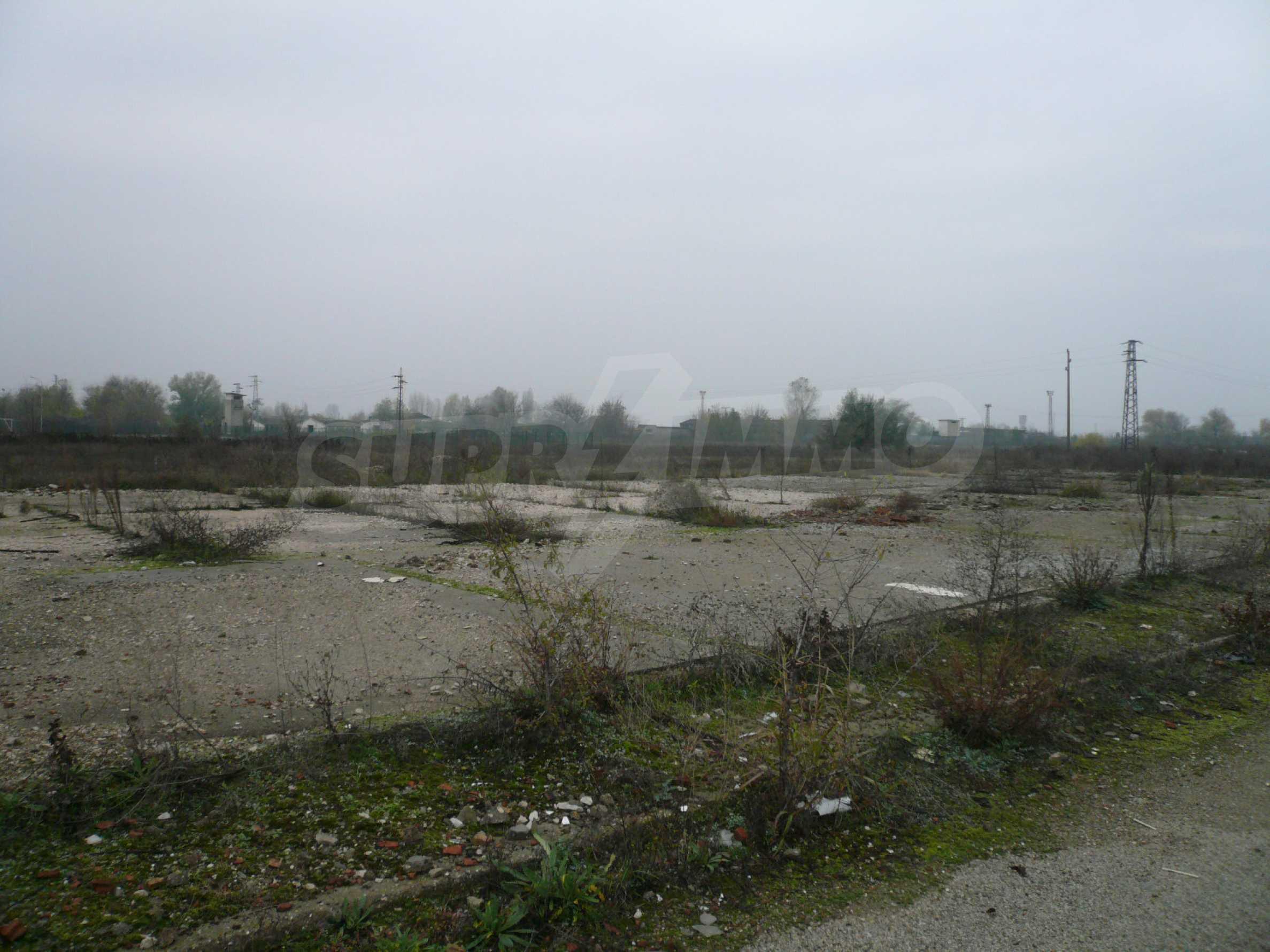 Großes reguliertes Grundstück im Industriegebiet von Vidin
