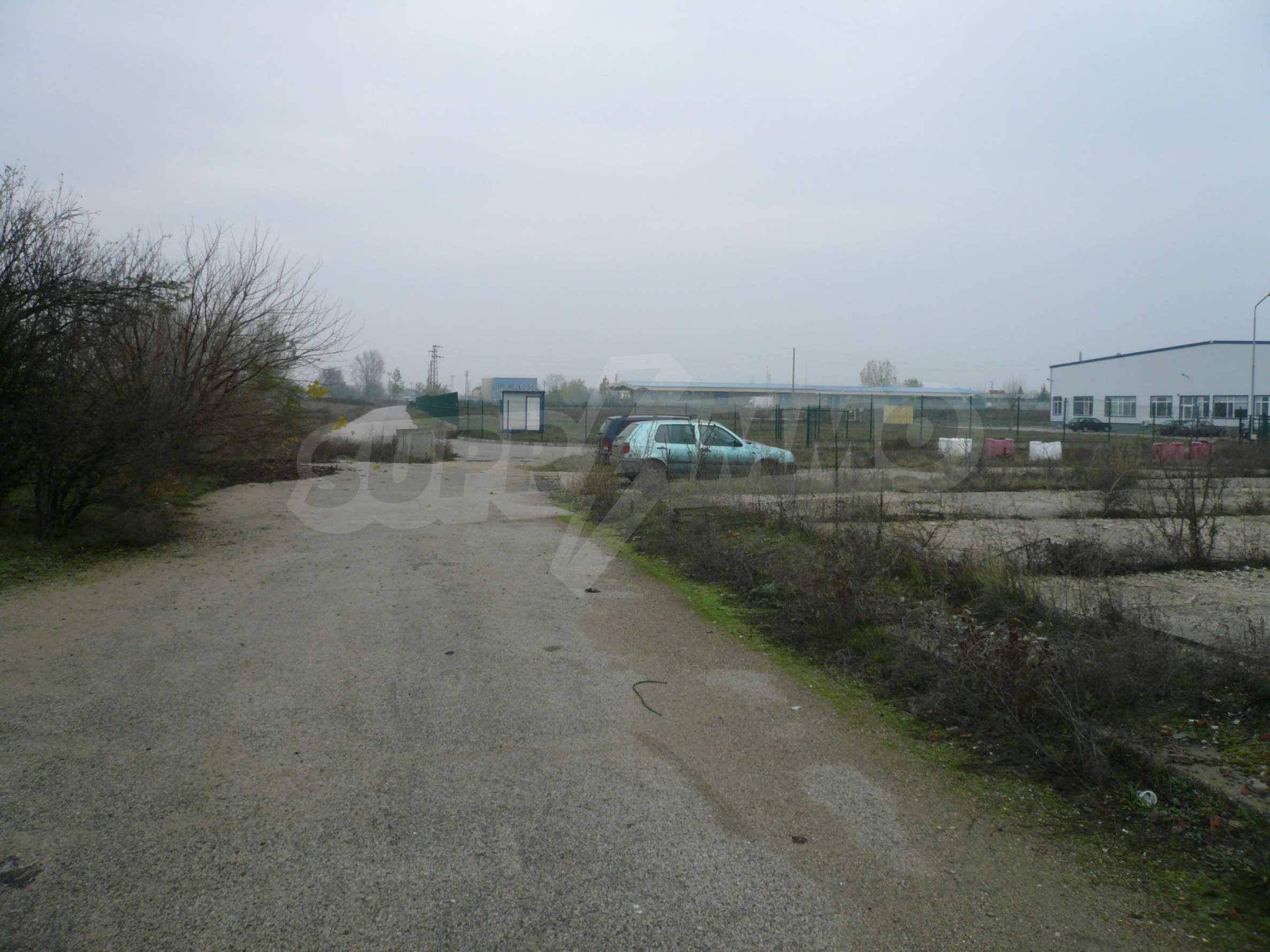 Großes reguliertes Grundstück im Industriegebiet von Vidin 2
