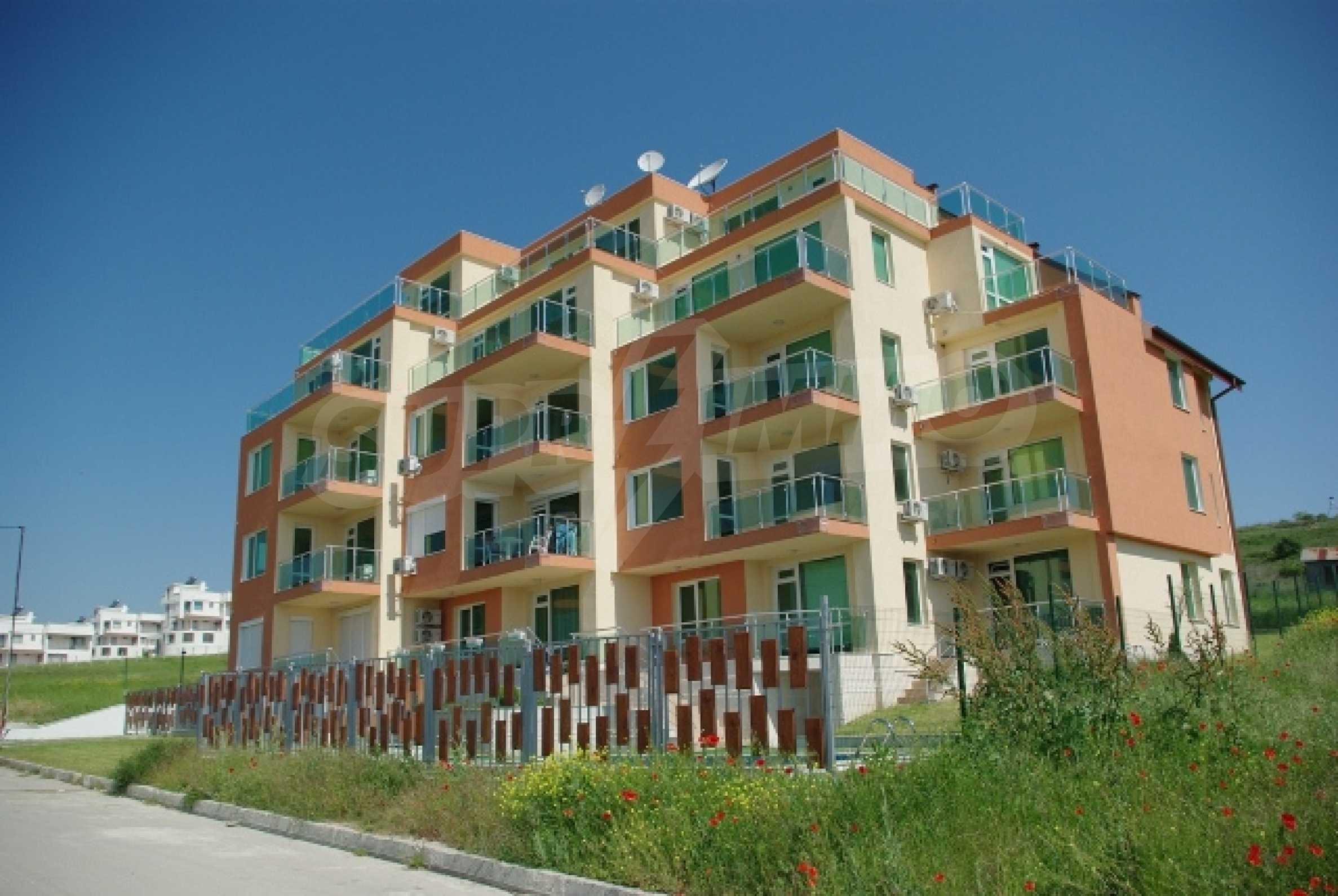 Panorama-Apartment mit zwei Schlafzimmern in Byala 1