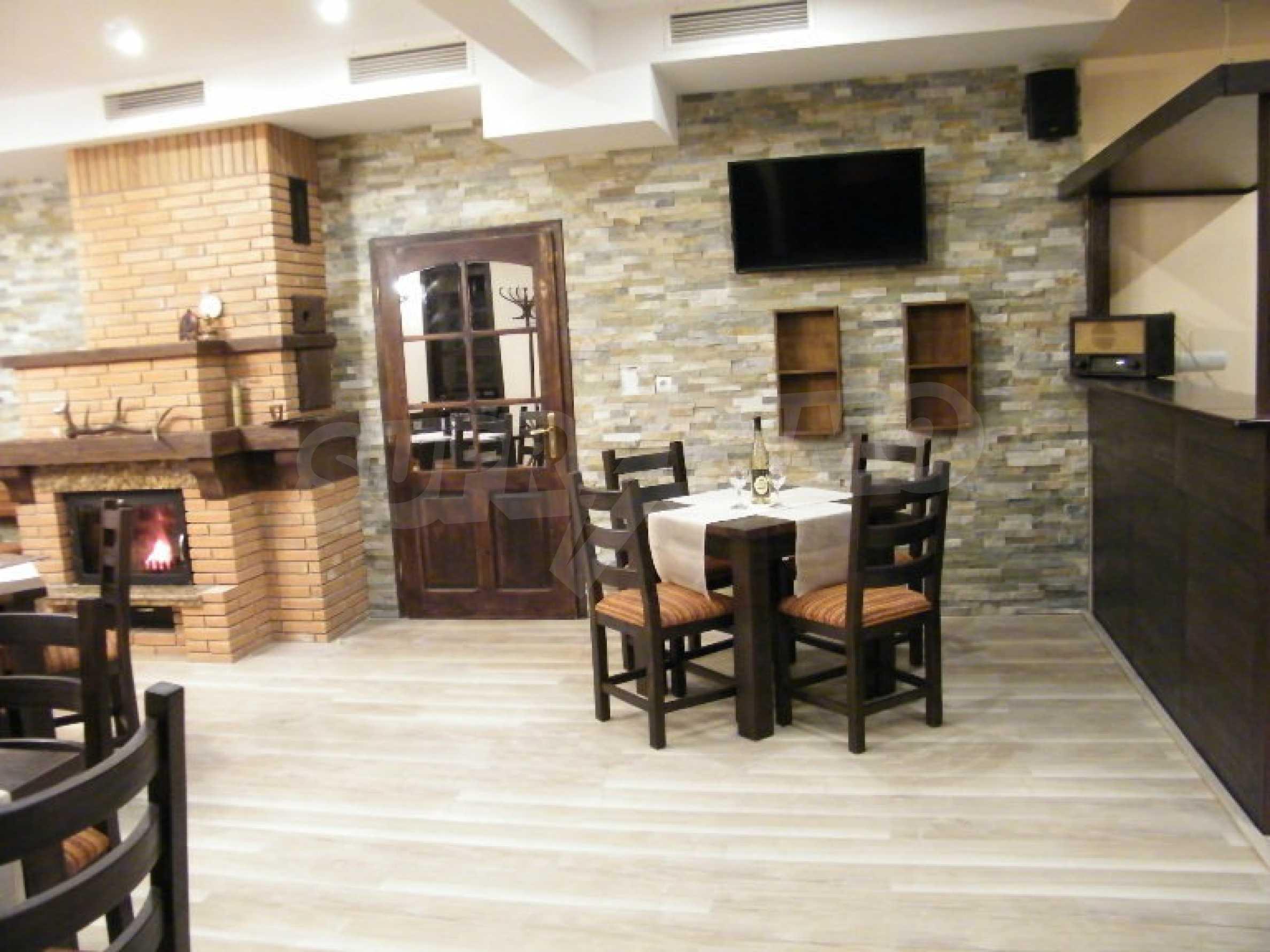 Neu erbautes, komfortabel eingerichtetes Hotel mit Pool im Herzen des Balkangebirges 45
