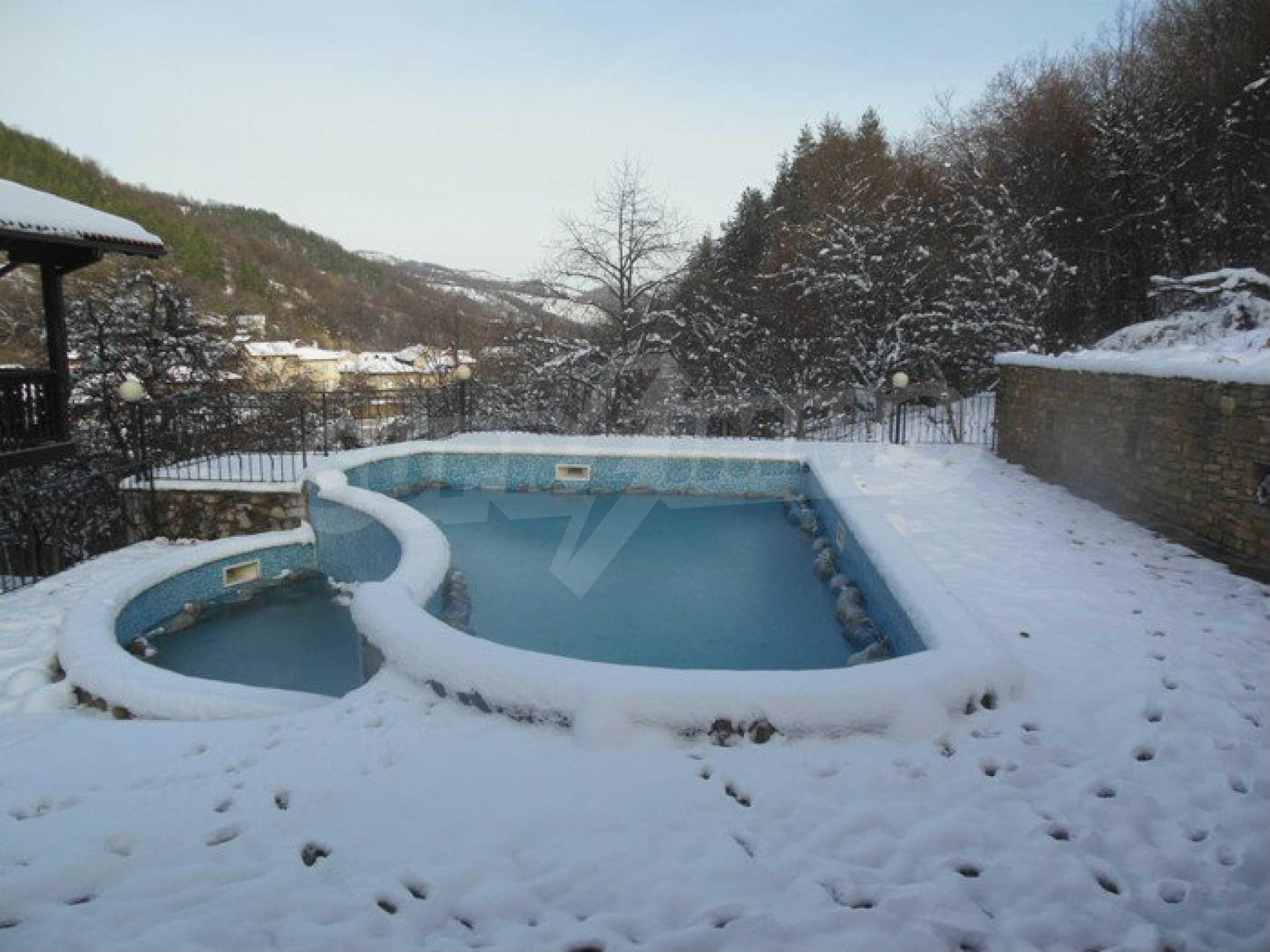 Neu erbautes, komfortabel eingerichtetes Hotel mit Pool im Herzen des Balkangebirges 56