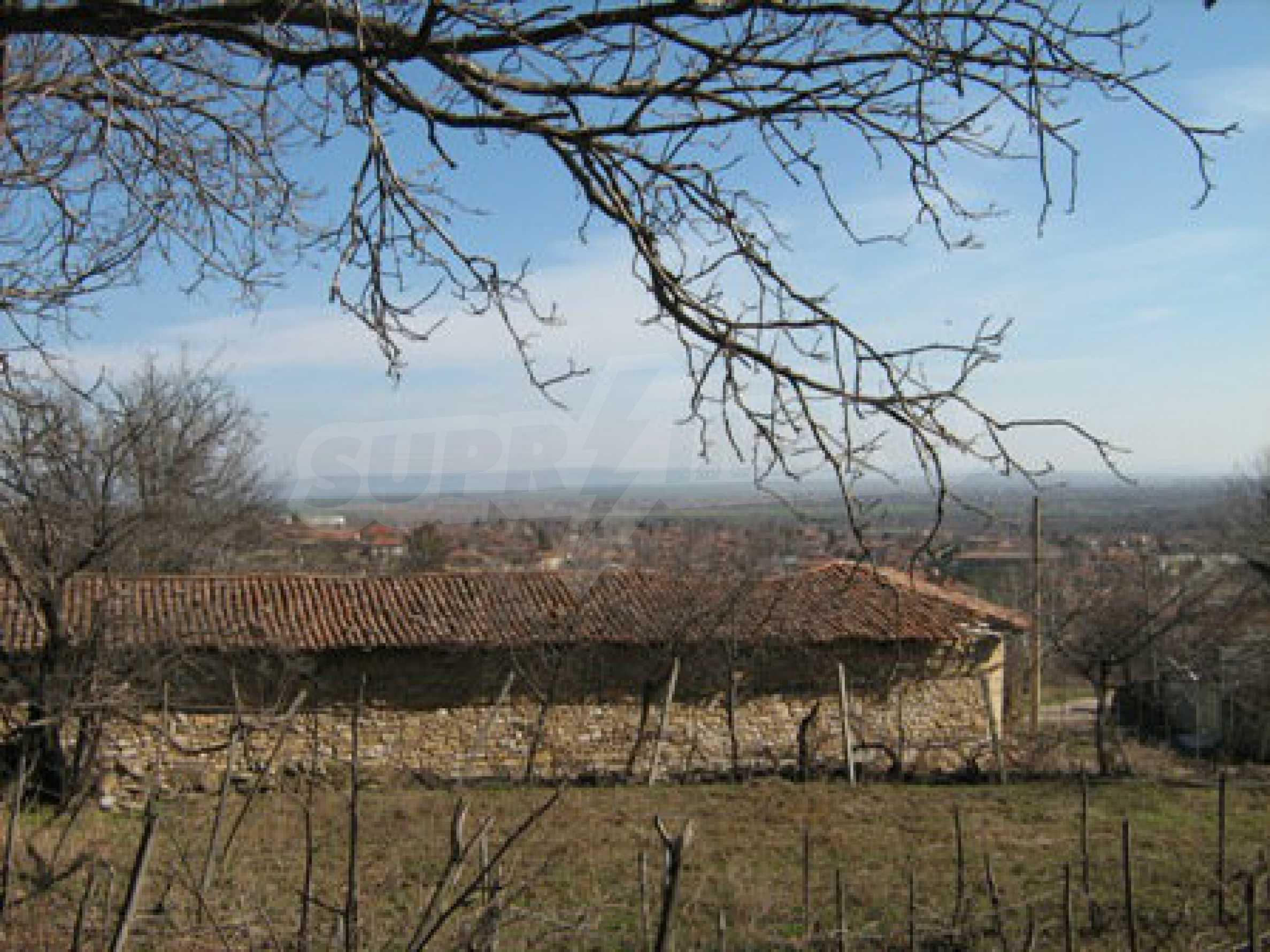 Ein altes authentisches Haus mit einem großen Garten in der Nähe der alten Hauptstadt 12