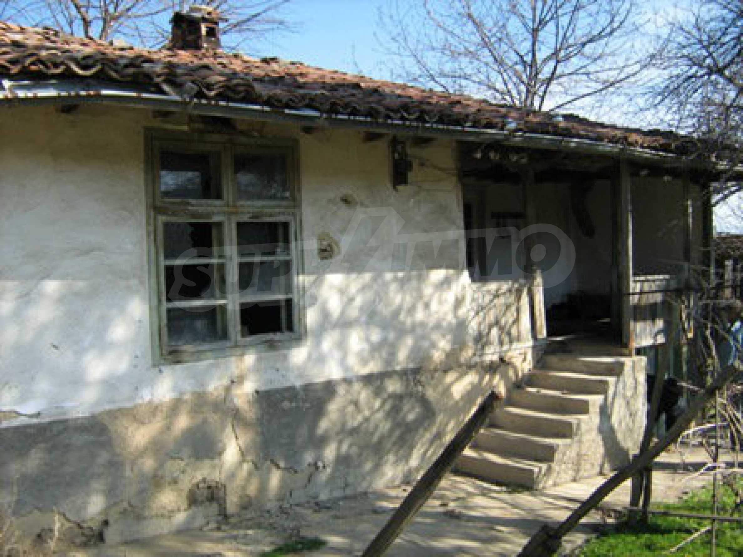 Ein altes authentisches Haus mit einem großen Garten in der Nähe der alten Hauptstadt 3