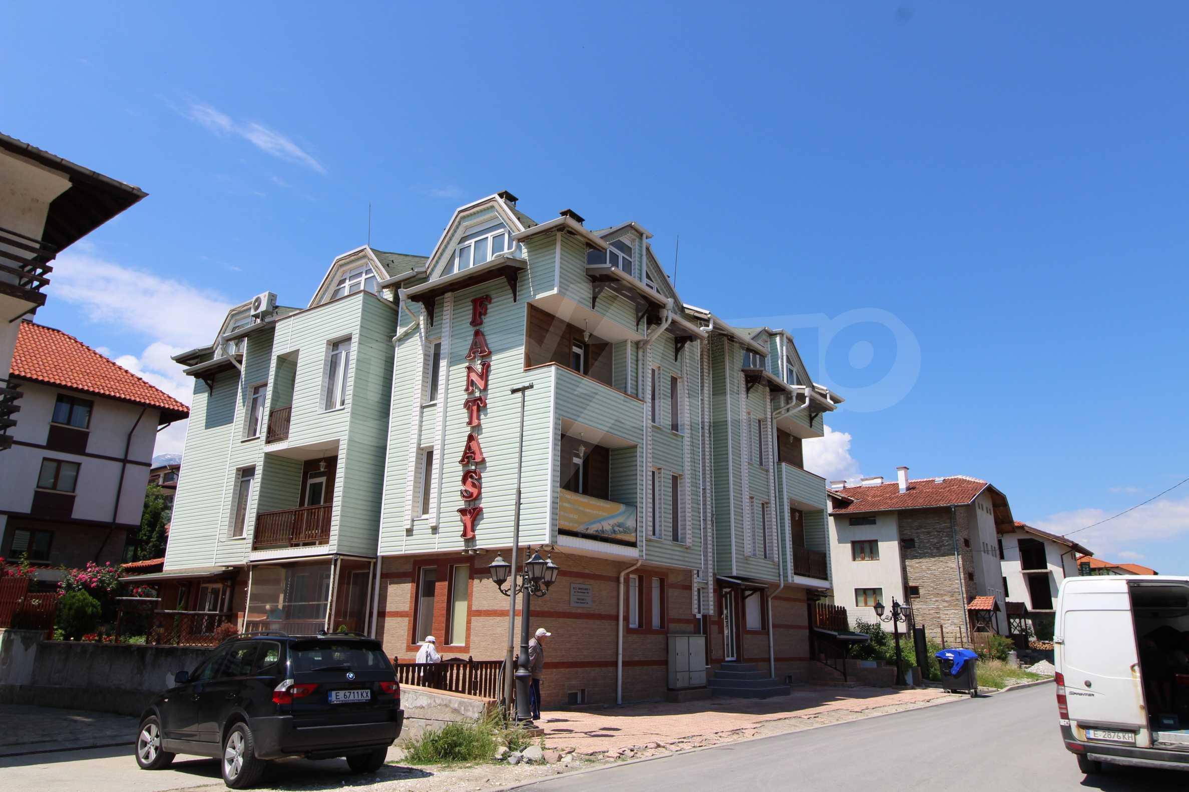 Обзаведен двустаен апартамент в Банско