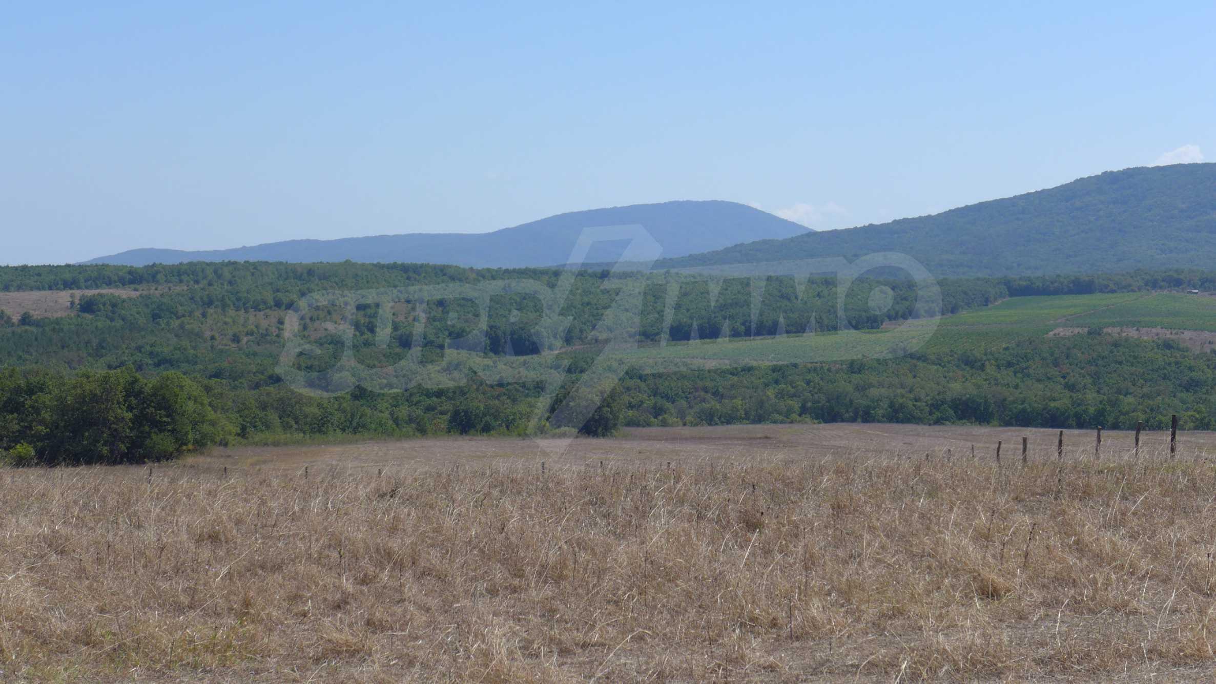 Geregeltes Grundstück in der Nähe des Dorfes Lozenets 10