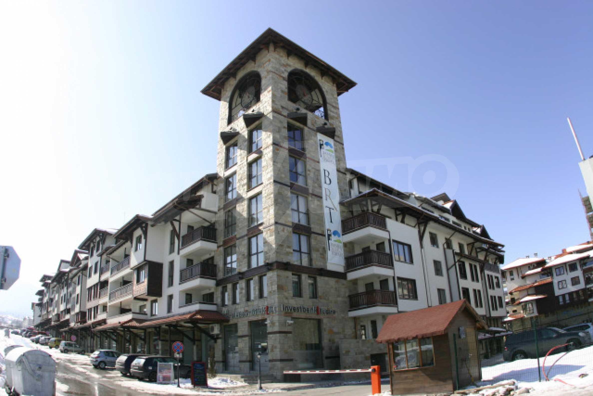 Двустаен апартамент в Банско Роял Тауърс