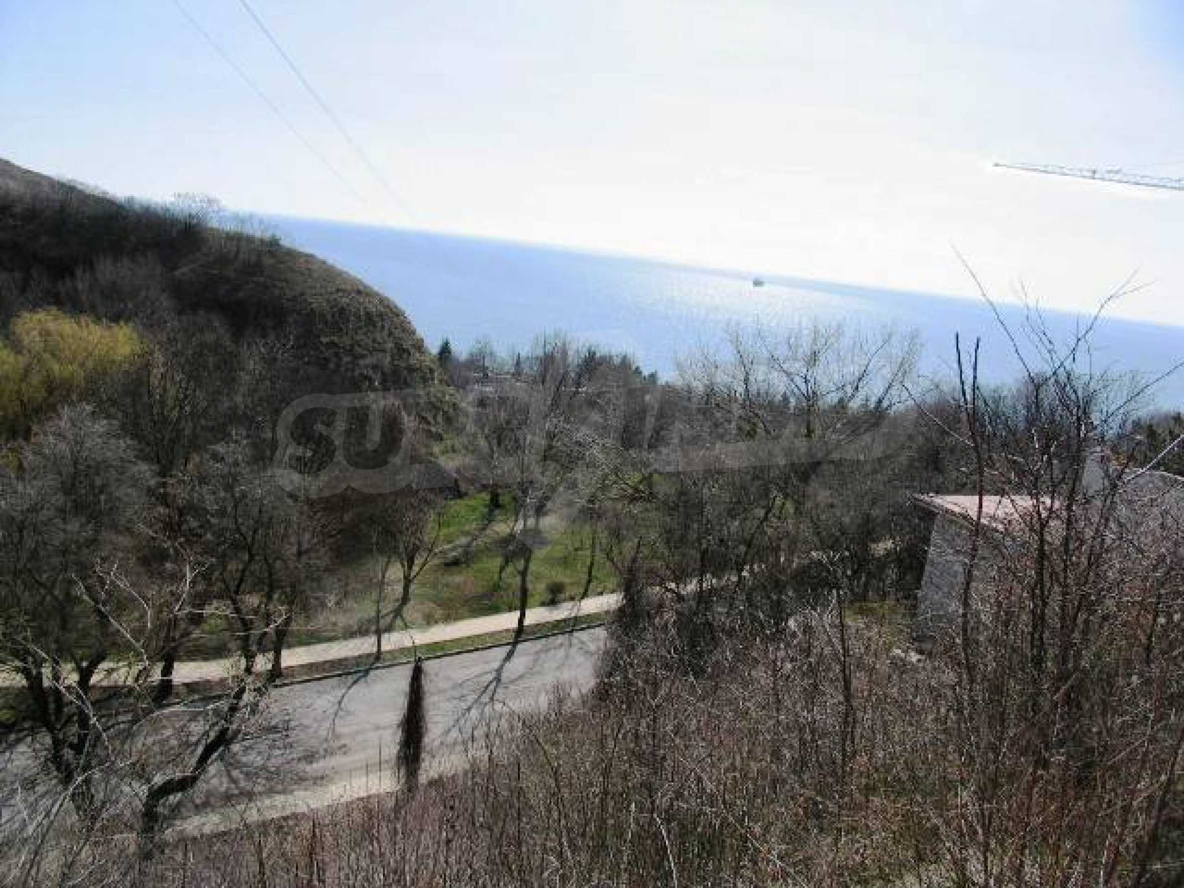 Superb plot of development land with excellent sea view in Balchik