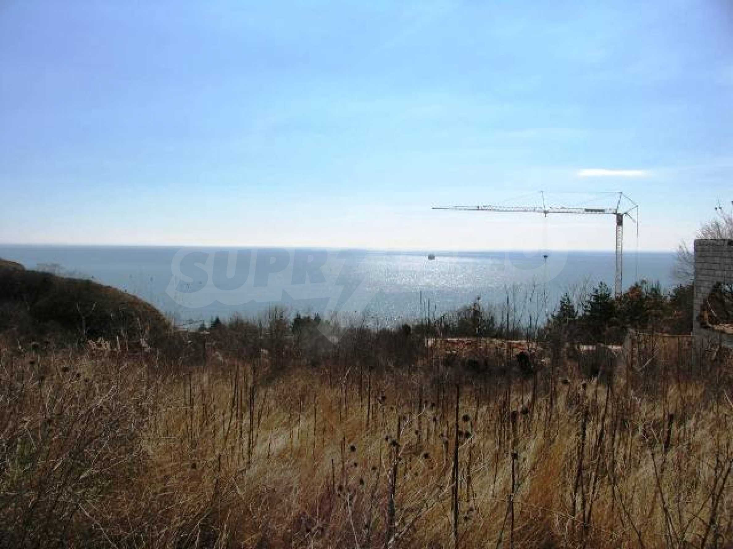 Superb plot of development land with excellent sea view in Balchik 2