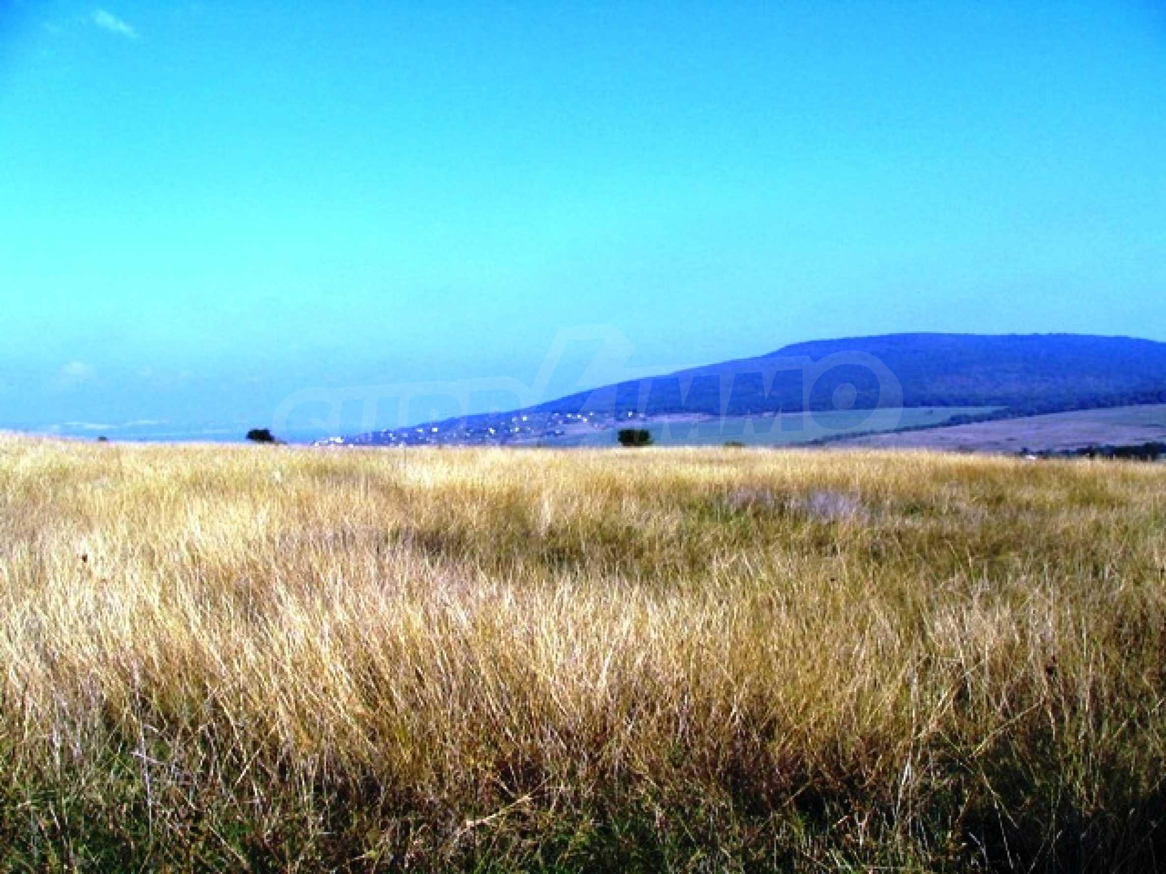 A vast plot of land near the sea!  2