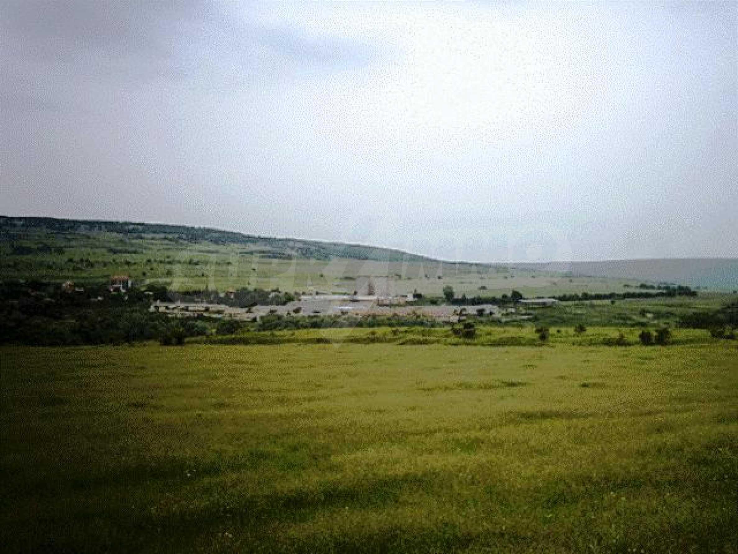 A vast plot of land near the sea!  8