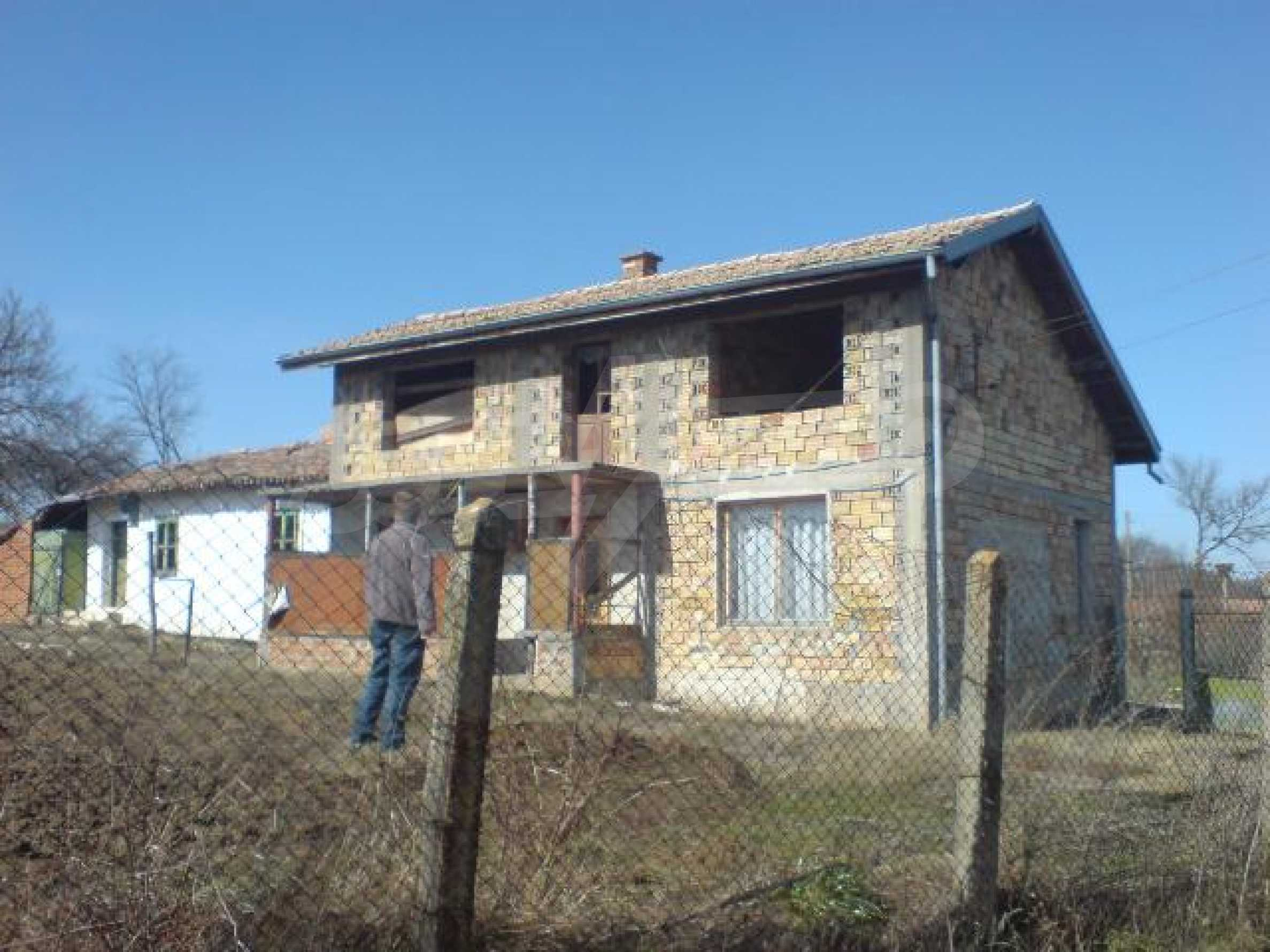 Newly-constructed house in Koprivets village, Ruse district