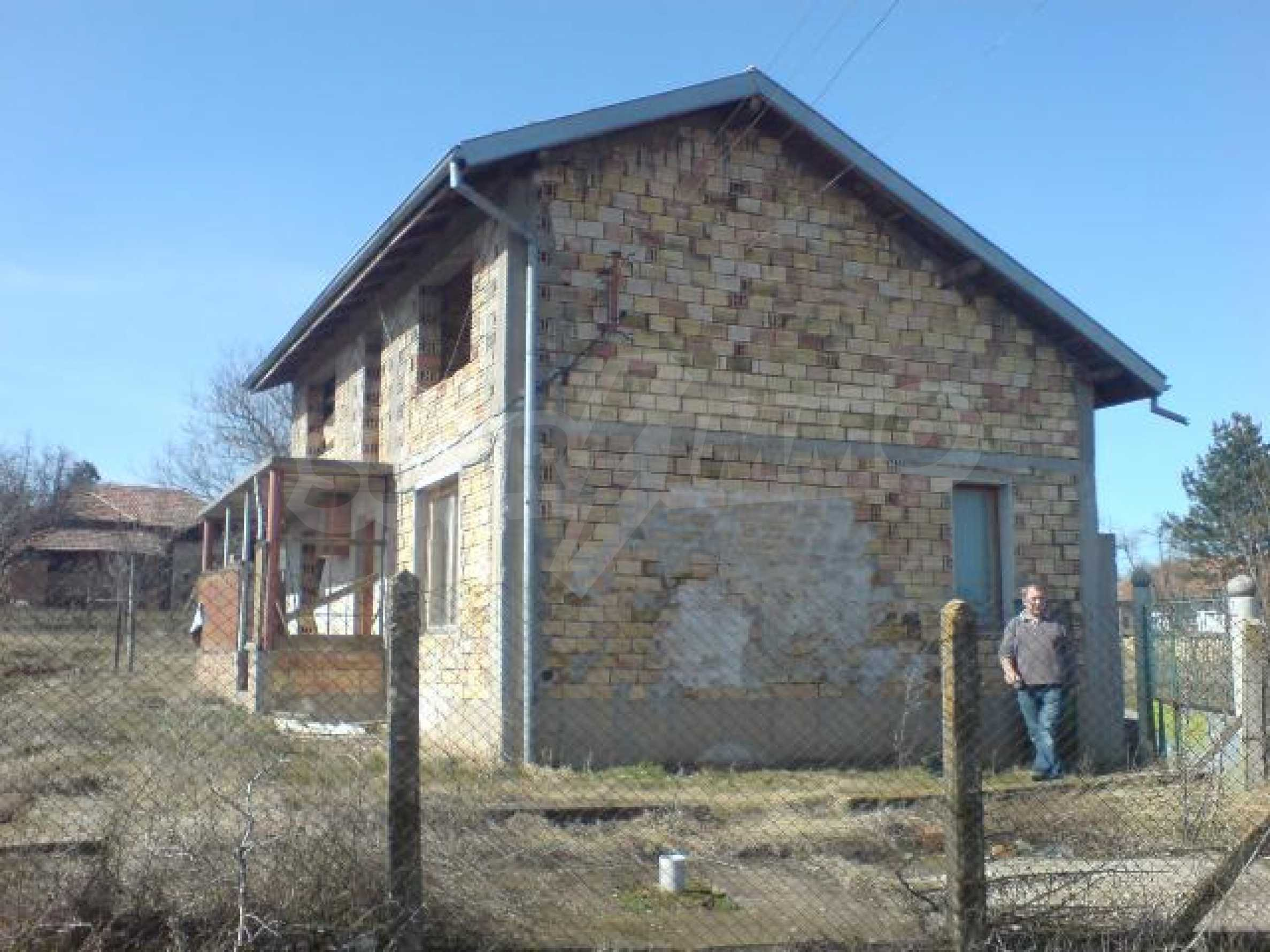 Newly-constructed house in Koprivets village, Ruse district 1