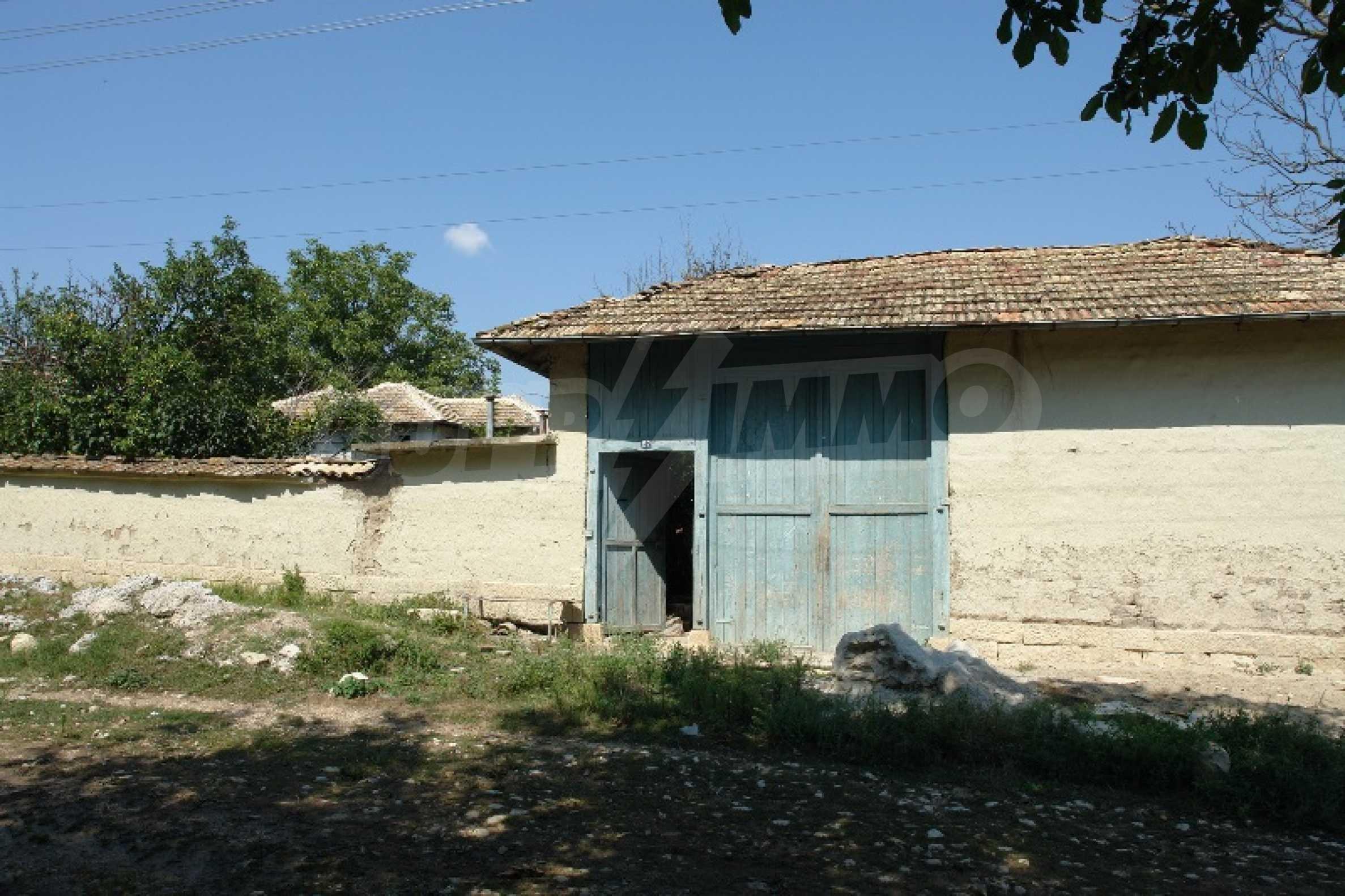 Едноетажна къща с две спални в село Садина, Русенско 1