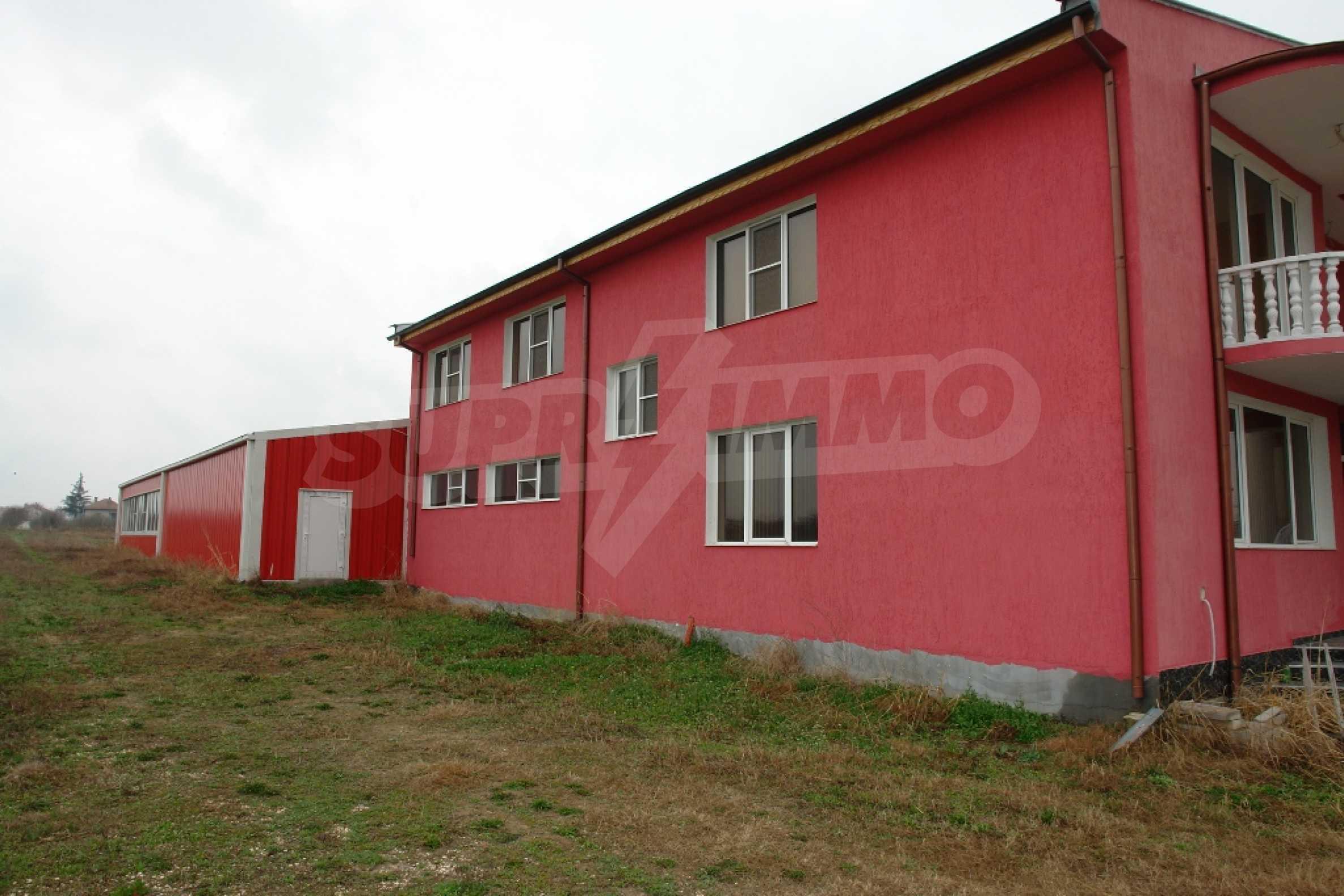 Индустриално-пакетажна база в град Мартен, Русенска област