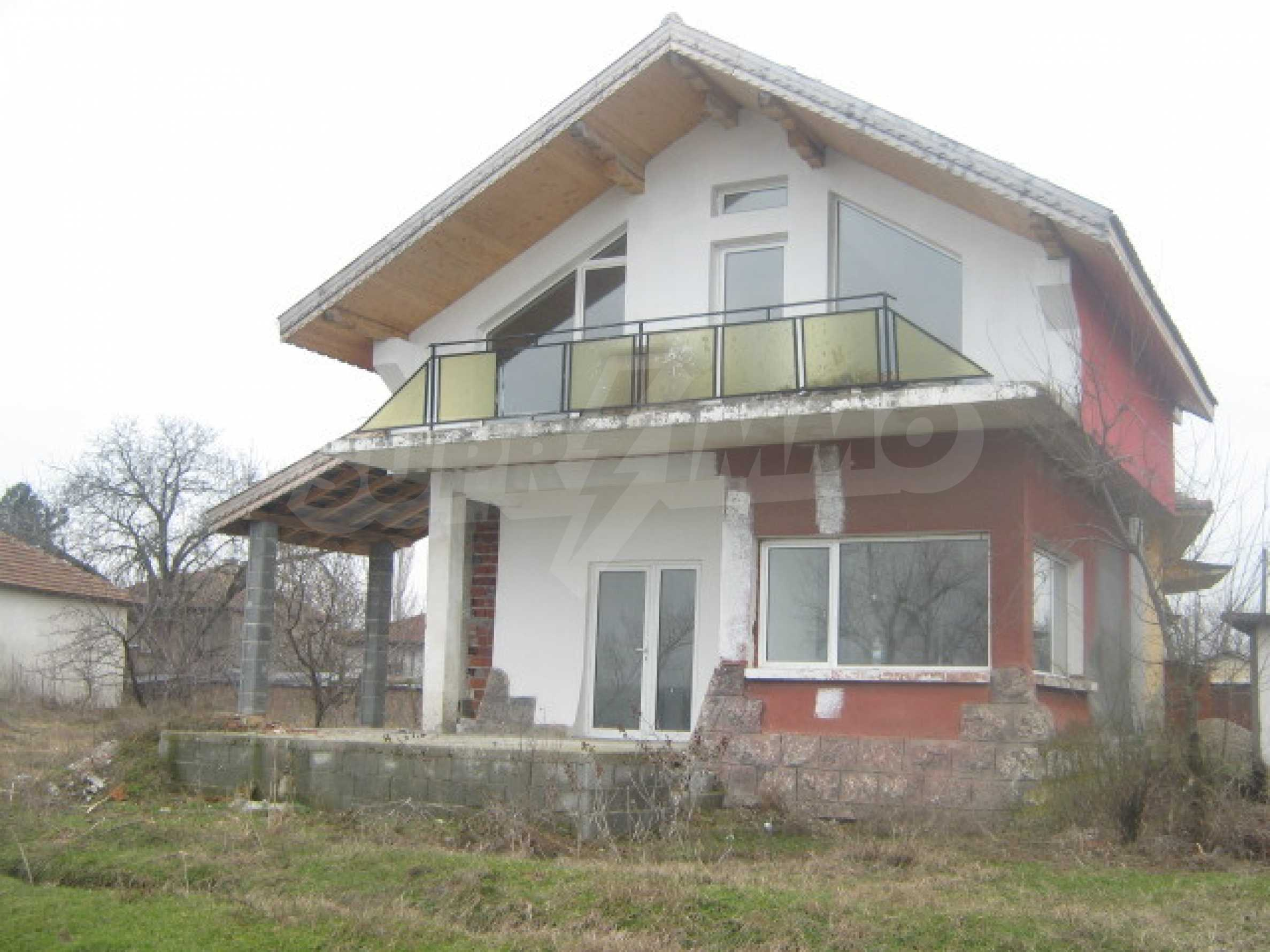 Appealing family villa in a beautiful village on the river bank 1