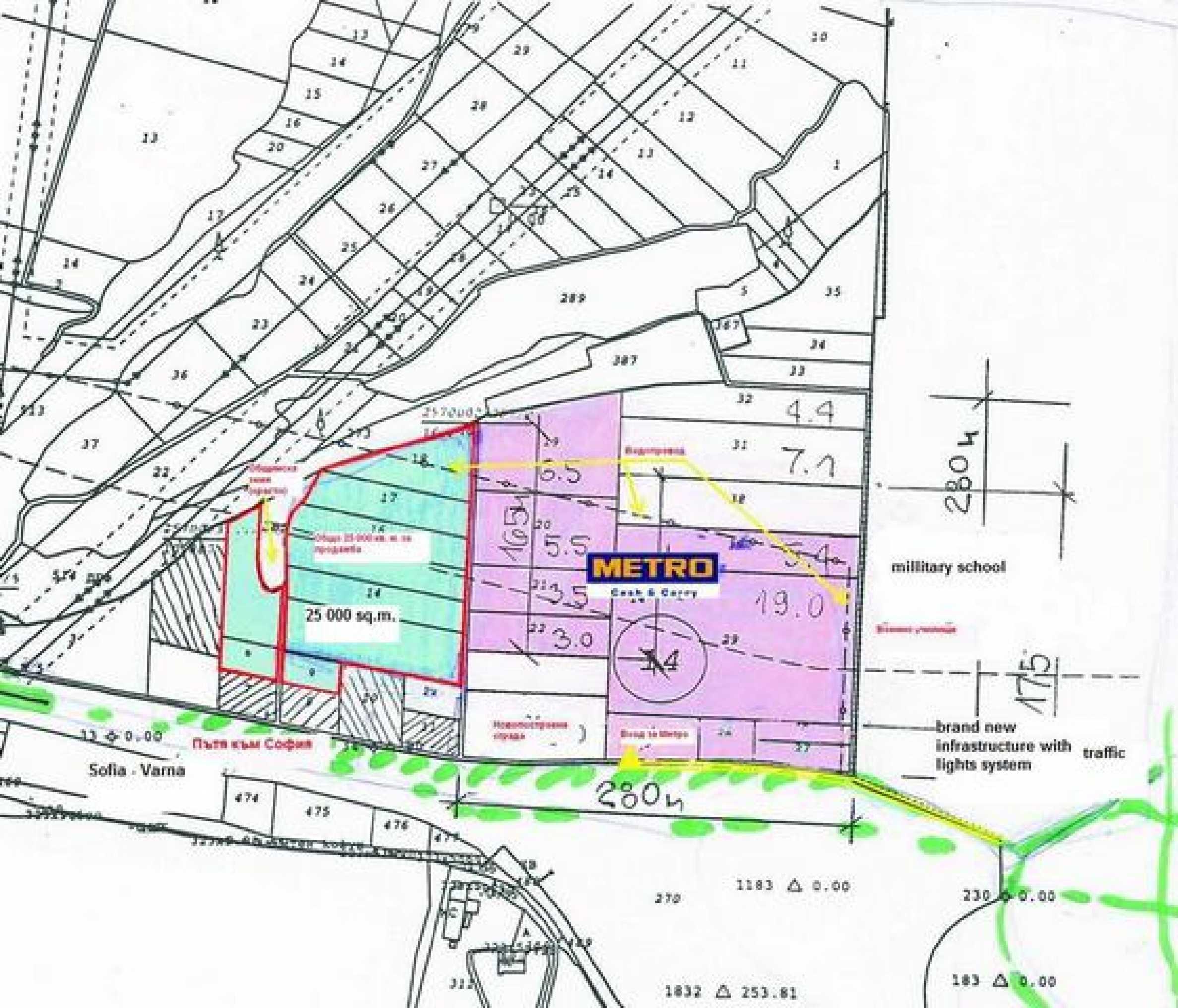 Plot for commercial development 16