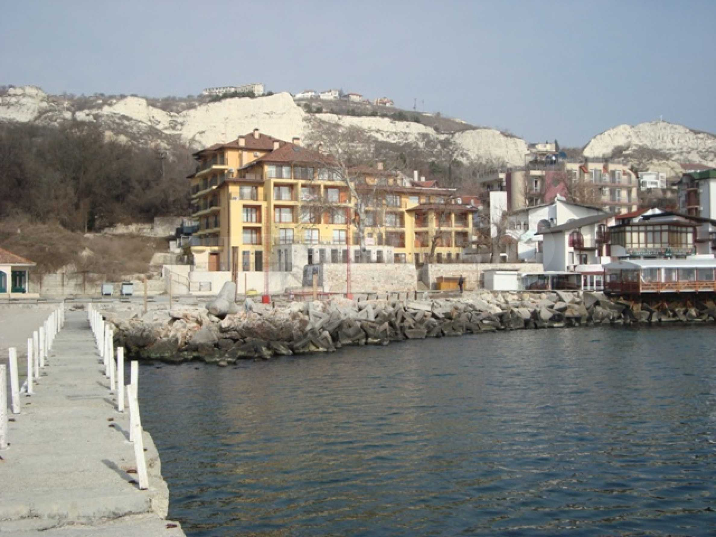 First line from the water in Balchik 1