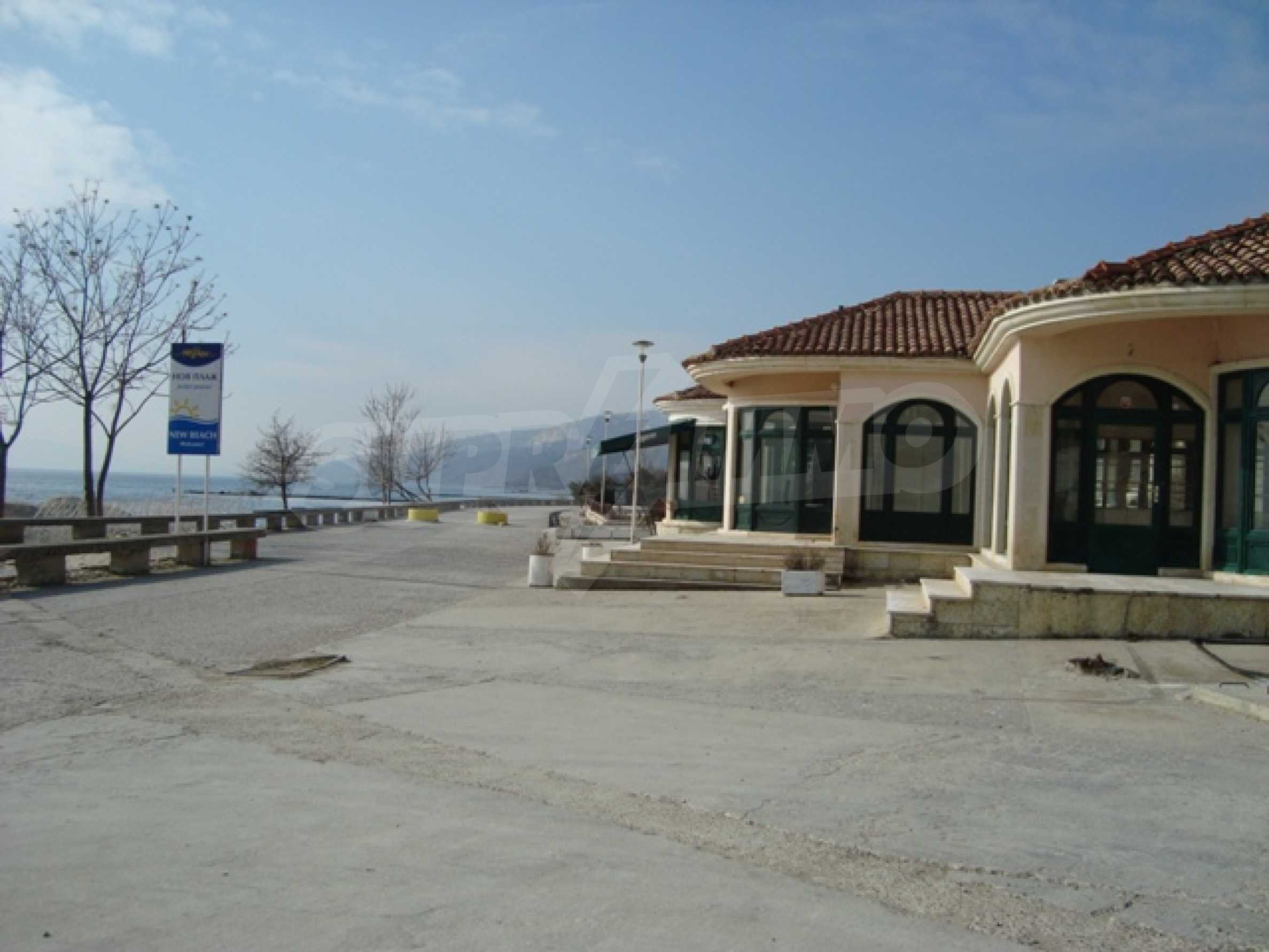 First line from the water in Balchik 5