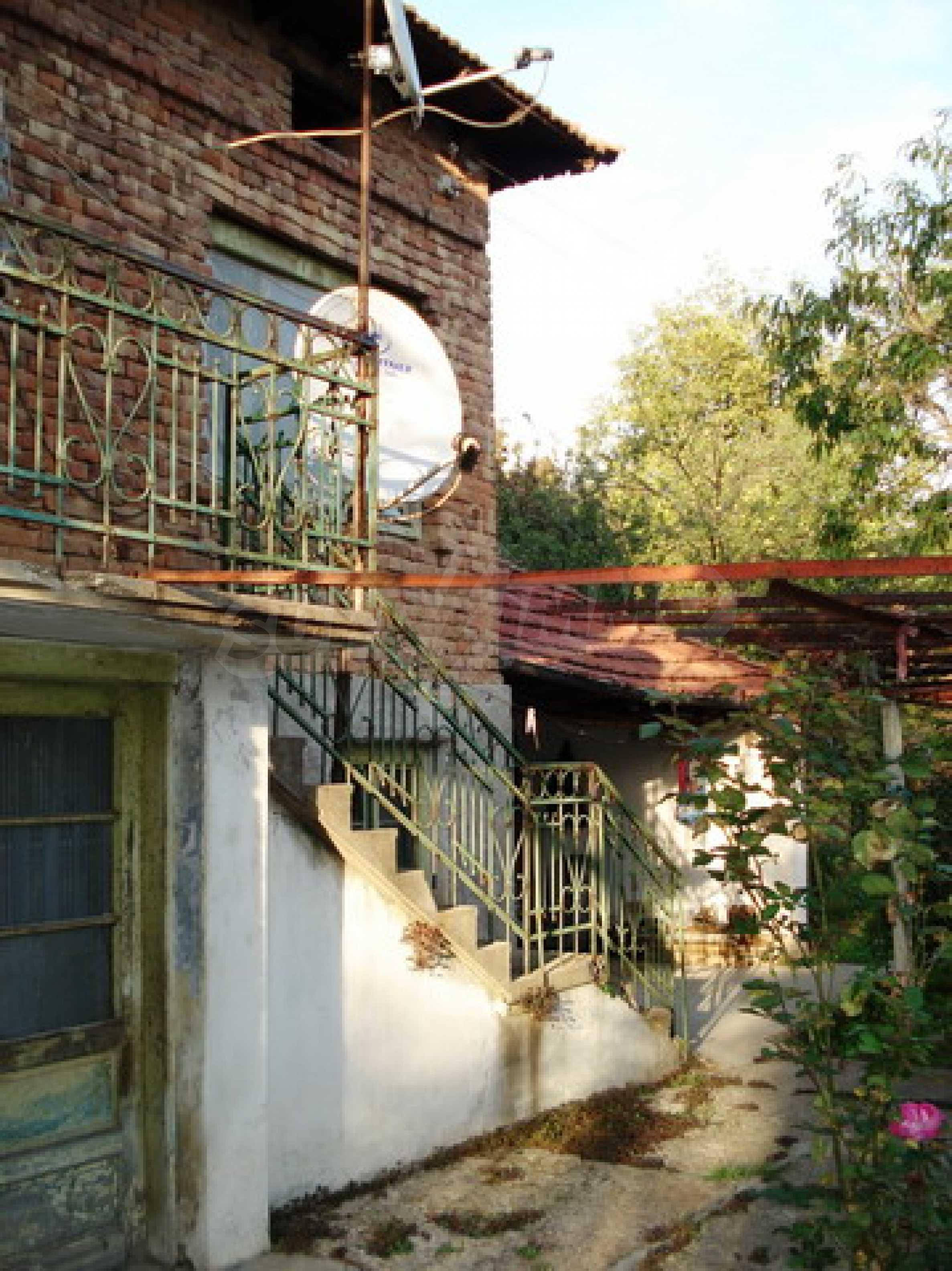 Brick-built village house 2
