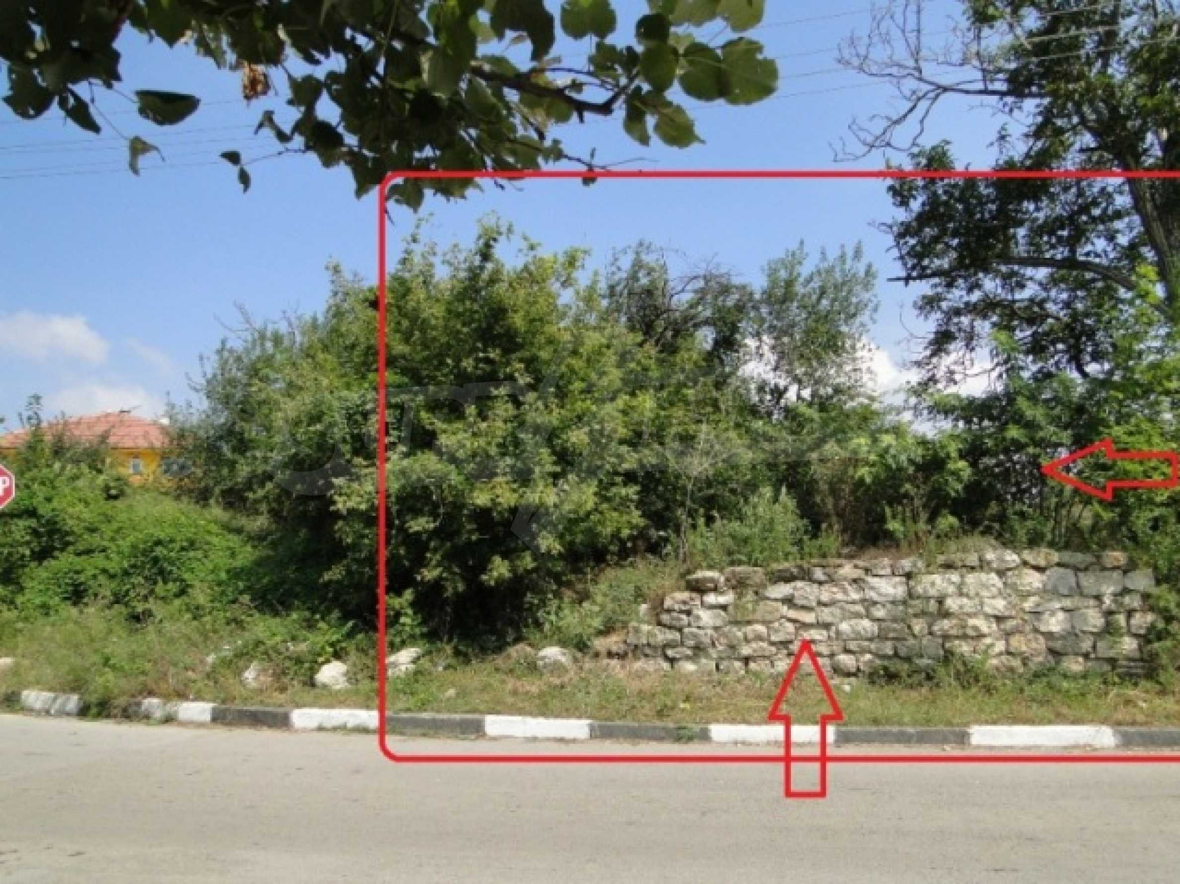 A regulated plot for sale in the village of Markovo 6