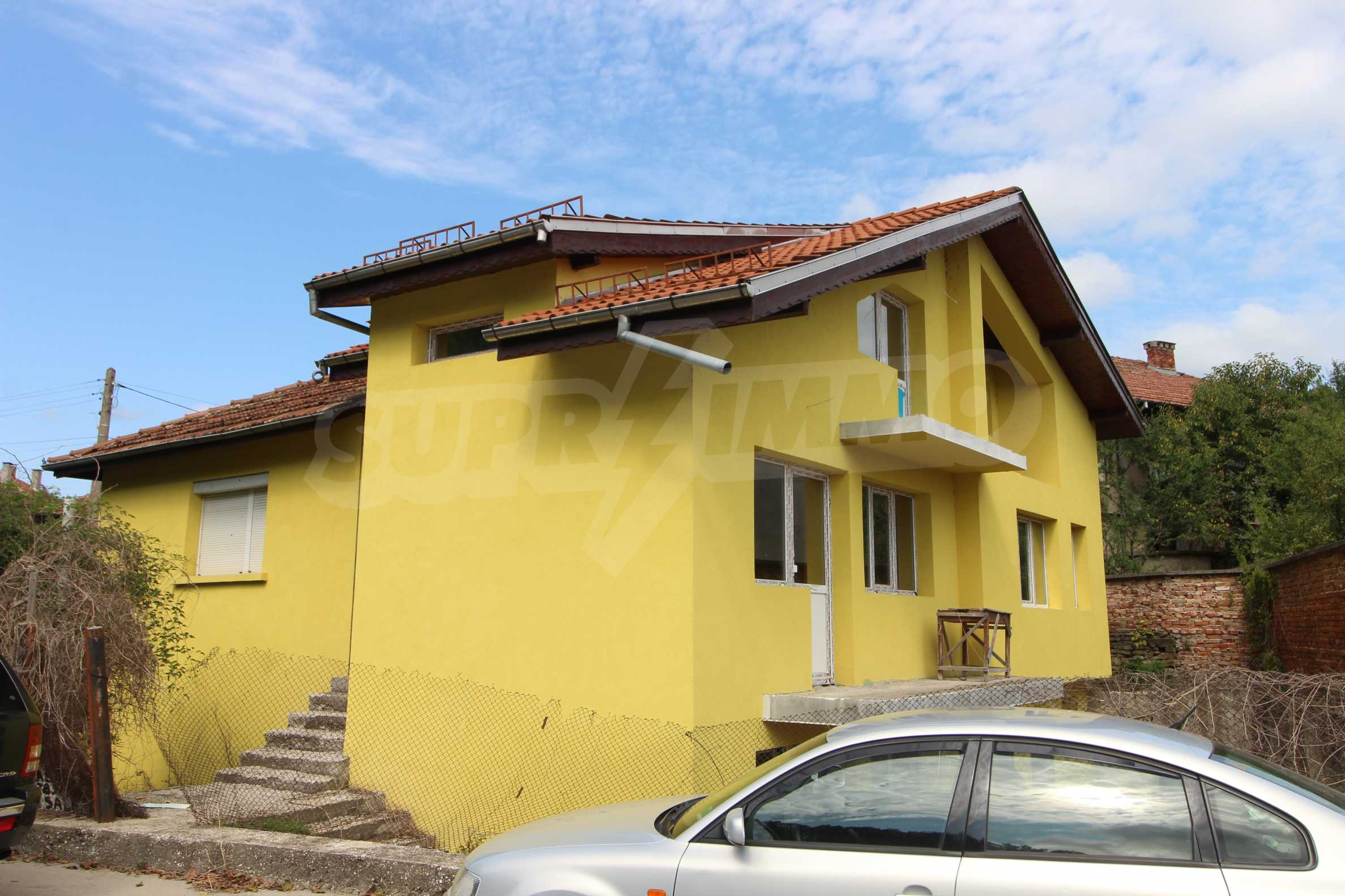 Newly built three-storey town house