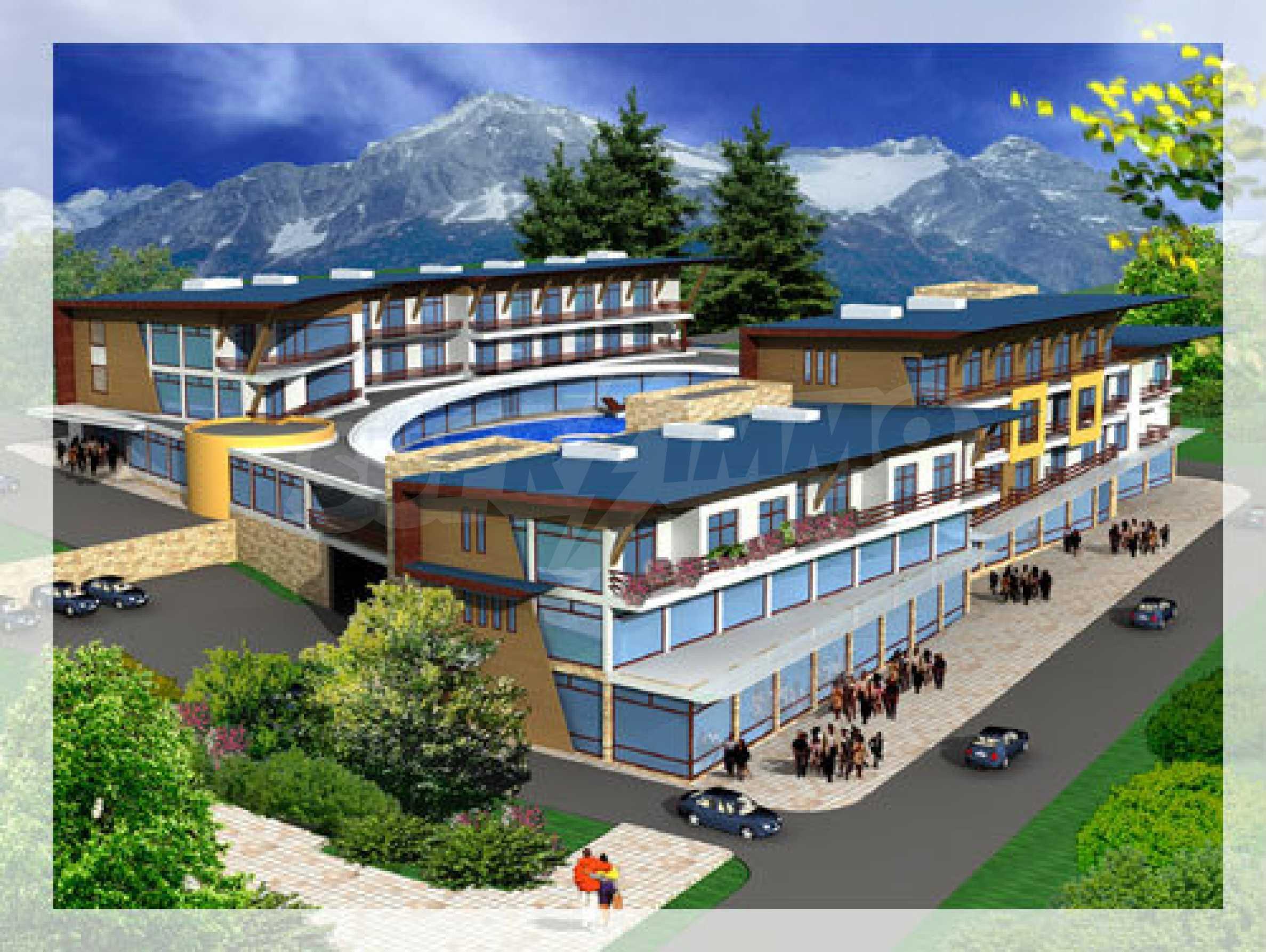 Проект за хотелски комплекс в гр.Тетевен