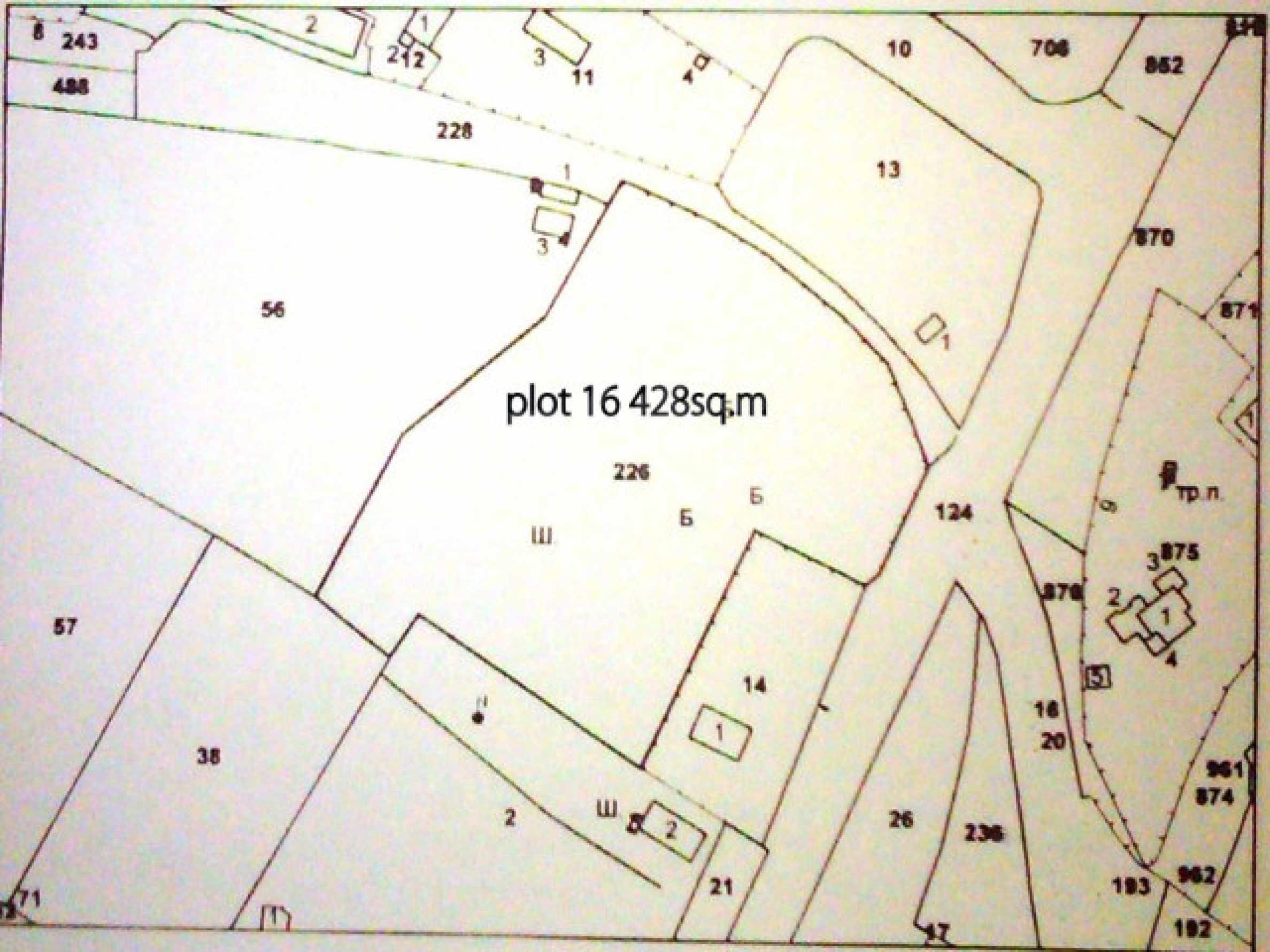 Huge plot on the main road 5