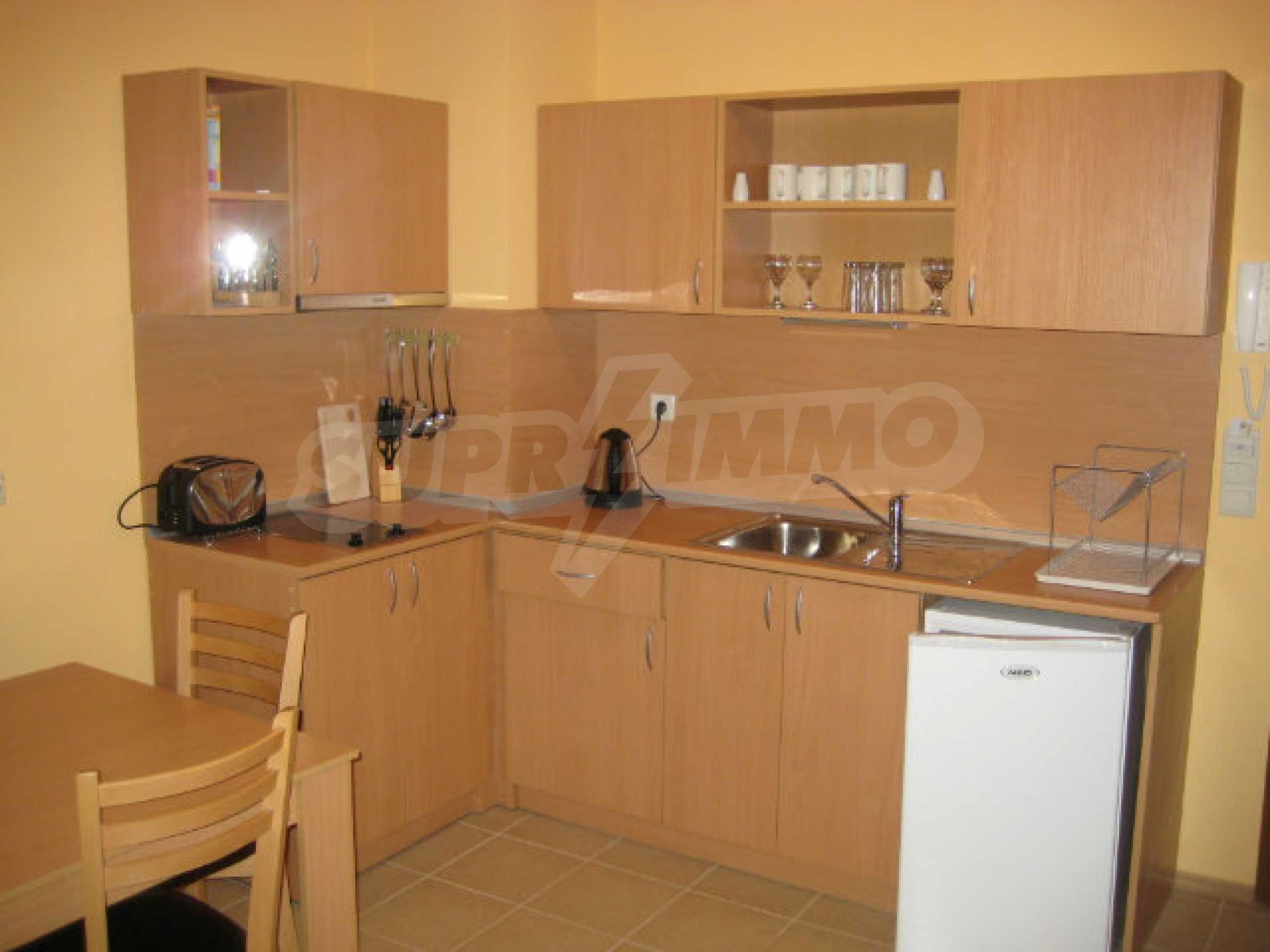 Двухкомнатная квартира в СПА комплексе Святого Ивана 12