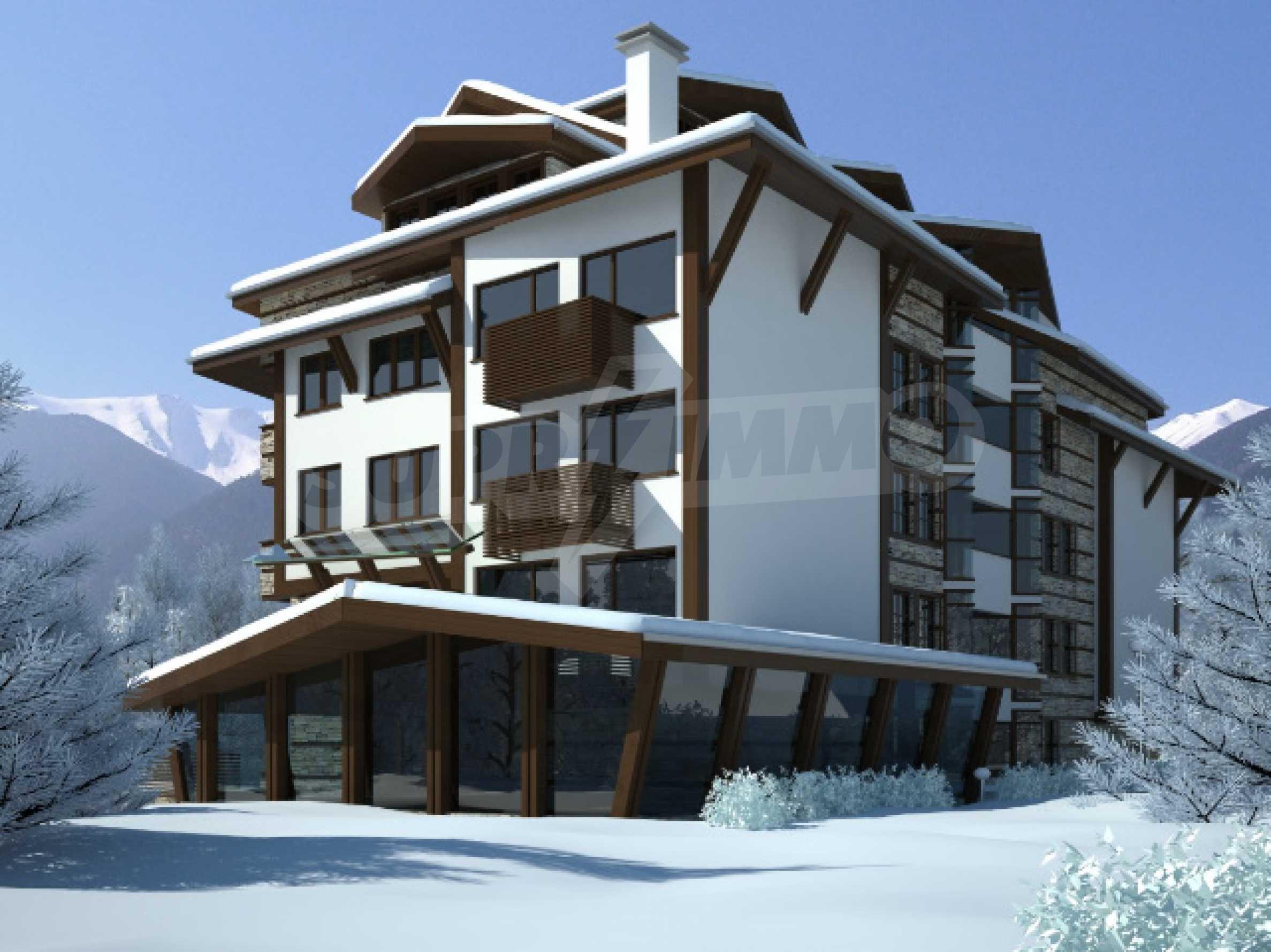Chateau Blanc (Шато Блан): Возможно лучшая возможность для инвестиции в Банско 2
