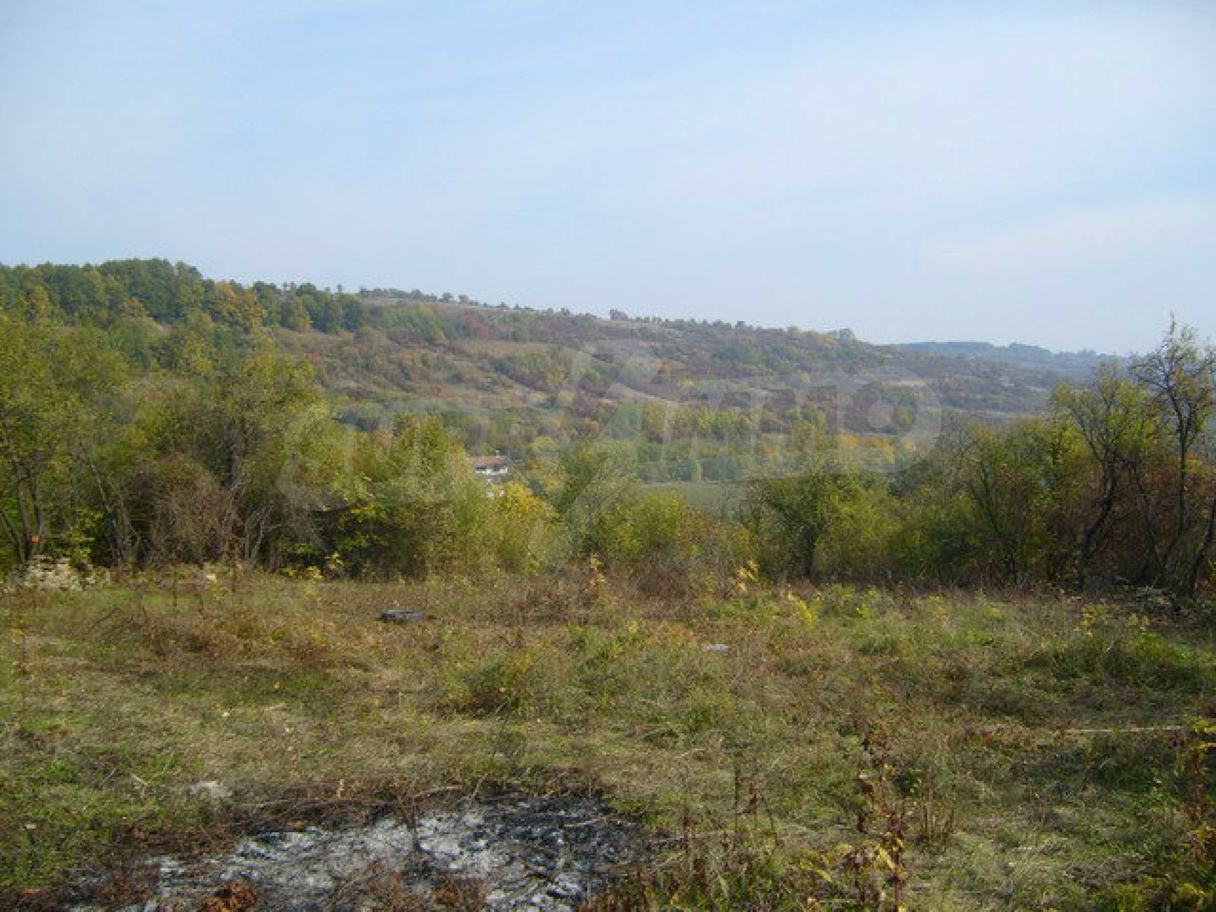 Regulated plot of land in a village with beautiful scenery  8