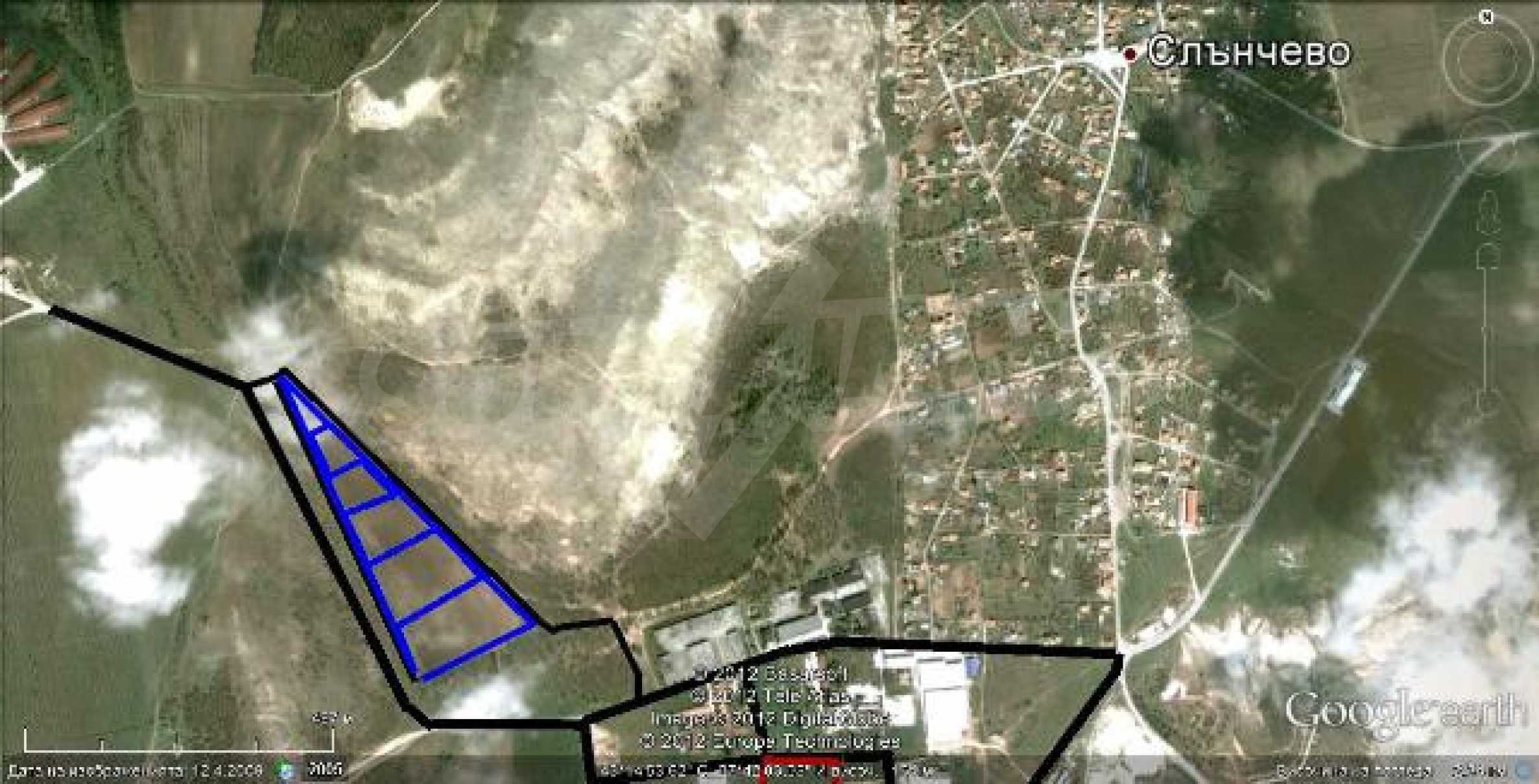 Участок площадь 49 362 кв.м. в 13 км от Варны 1