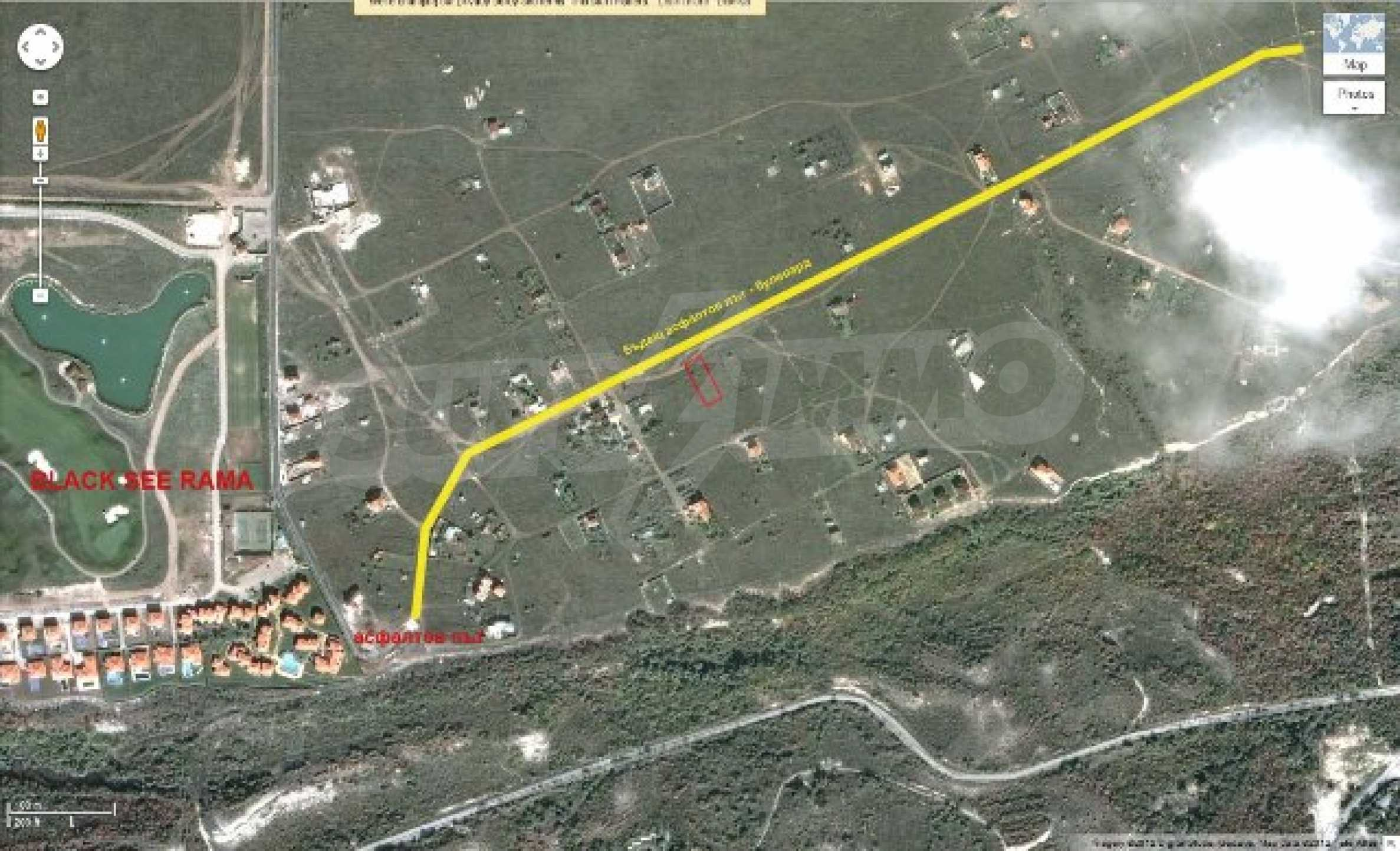 Plot with investment project near golf course  10