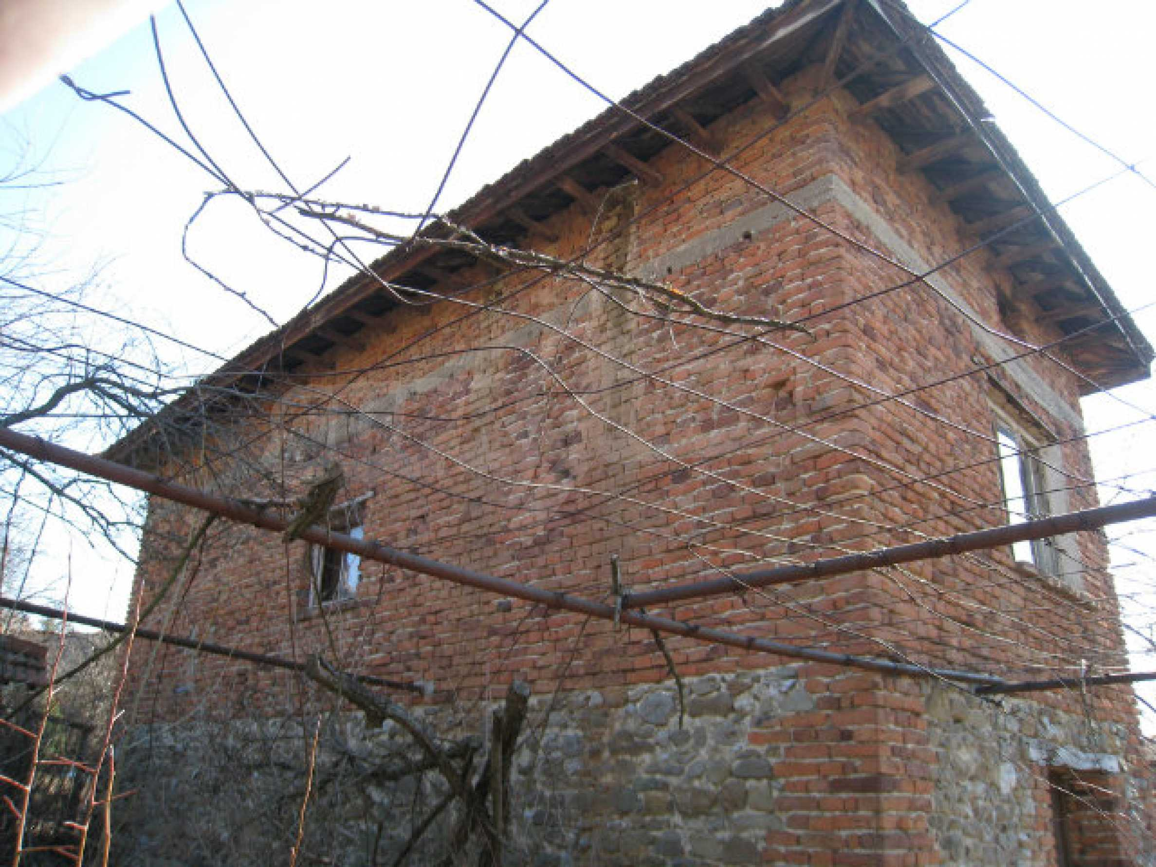 Old house with yard 70 km from Sofia 35