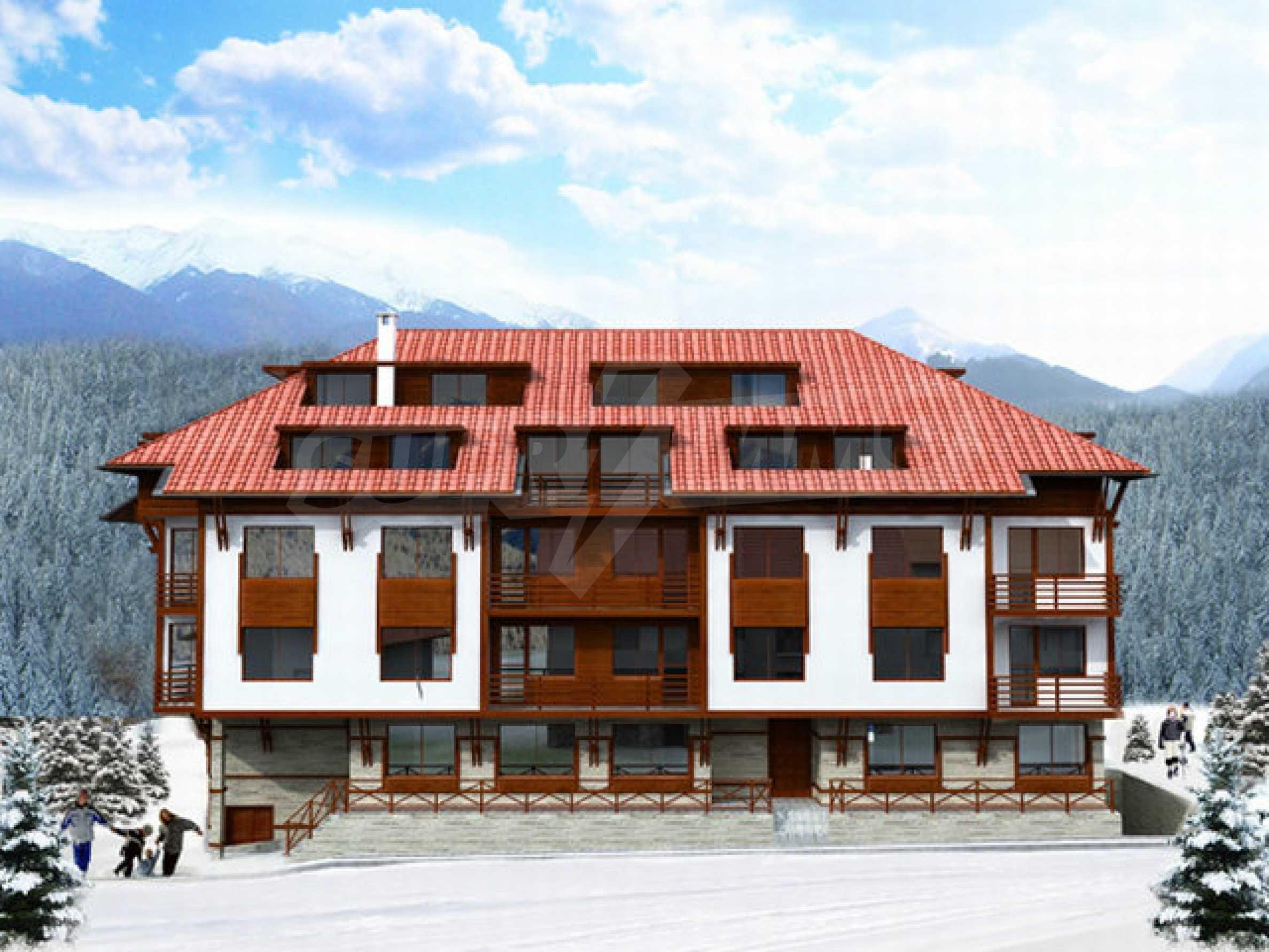 Участок с проектом на продажу в зимнем курорте Банско 1