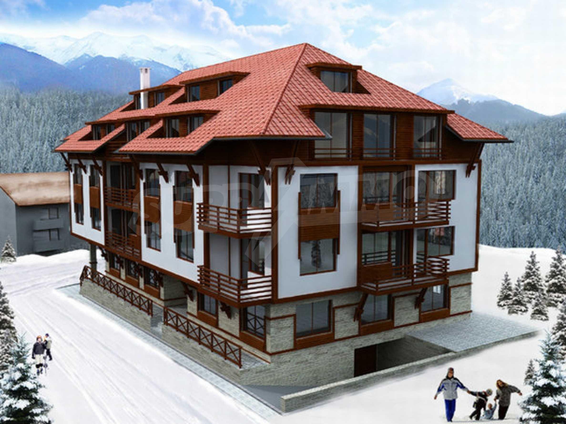 Участок с проектом на продажу в зимнем курорте Банско 2