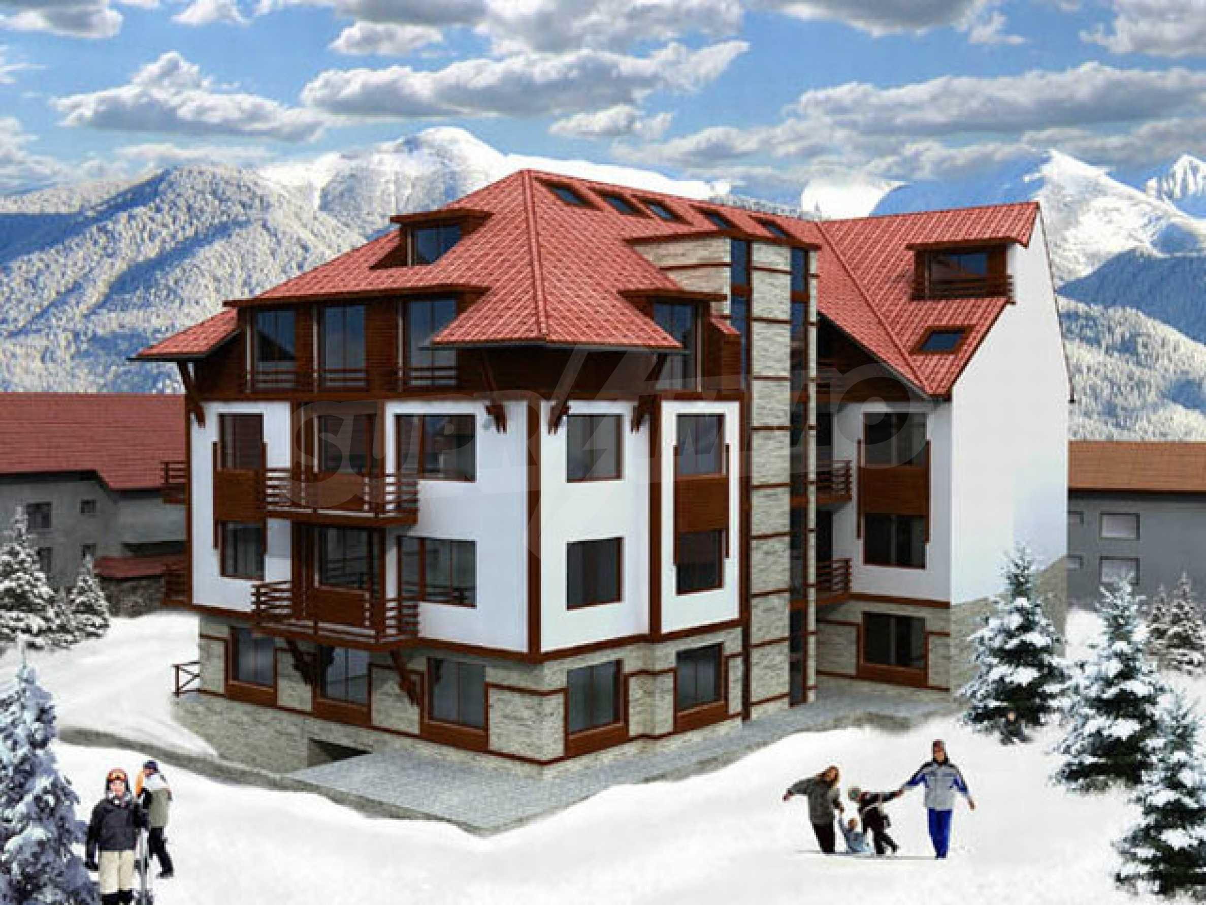 Участок с проектом на продажу в зимнем курорте Банско 4