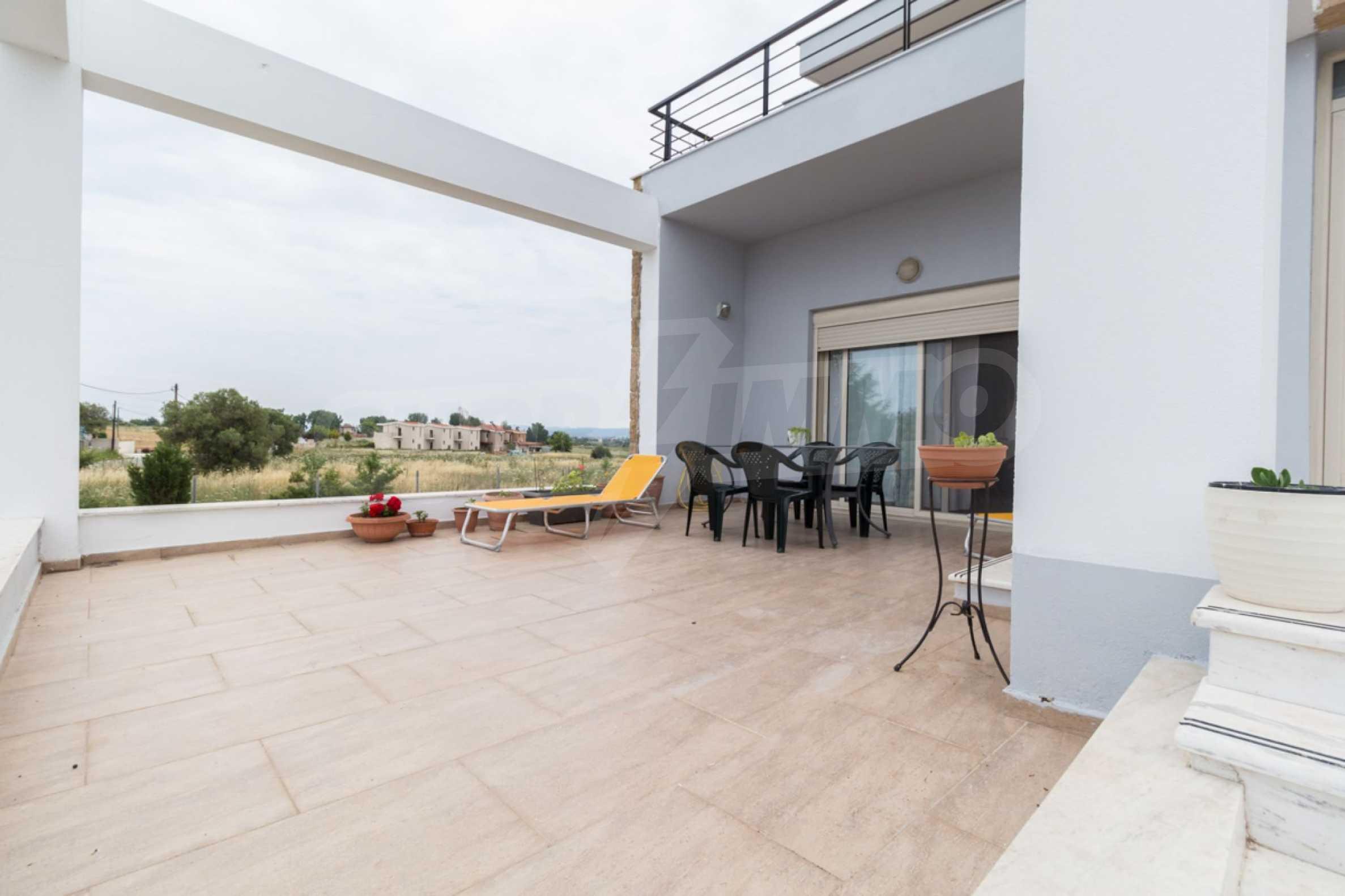 Напълно озаведена къща под наем в Афитос, Касандра 21