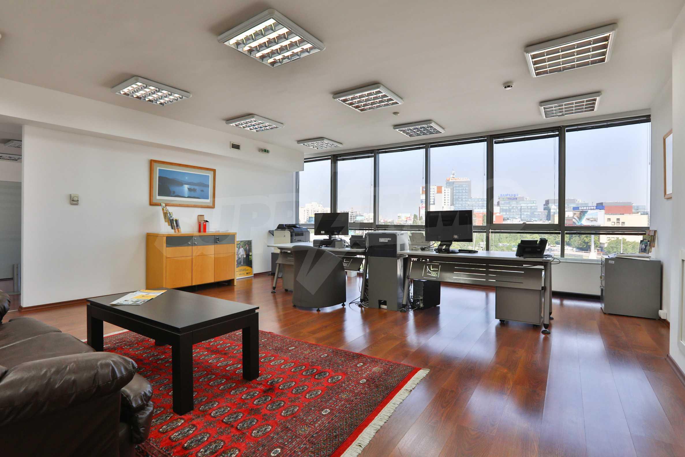 Площи тип open space в офис зоната на бул. Цариградско шосе 29