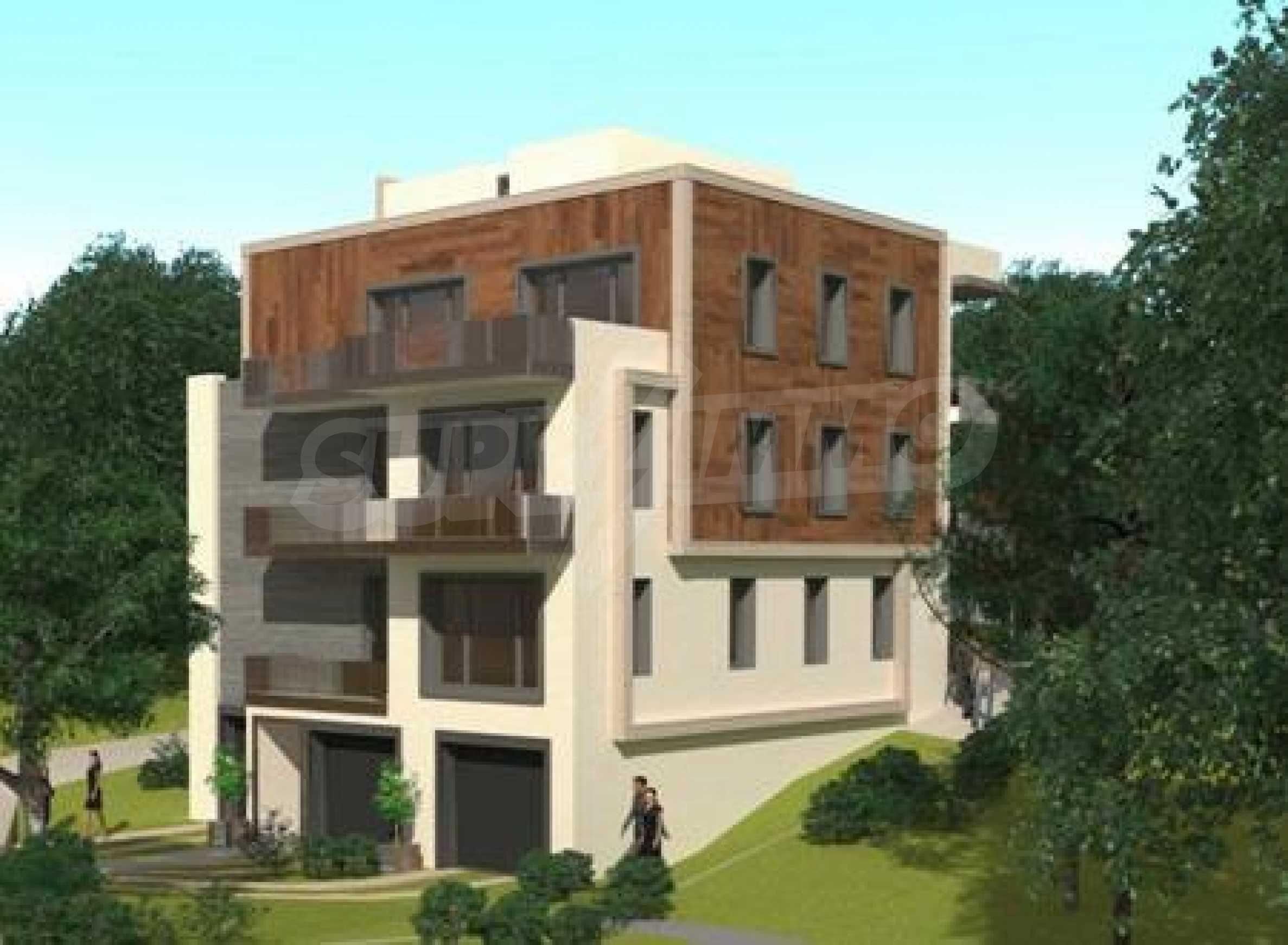 Панорамен многостаен апартамент с големи тераси, кв. Драгалевци 2