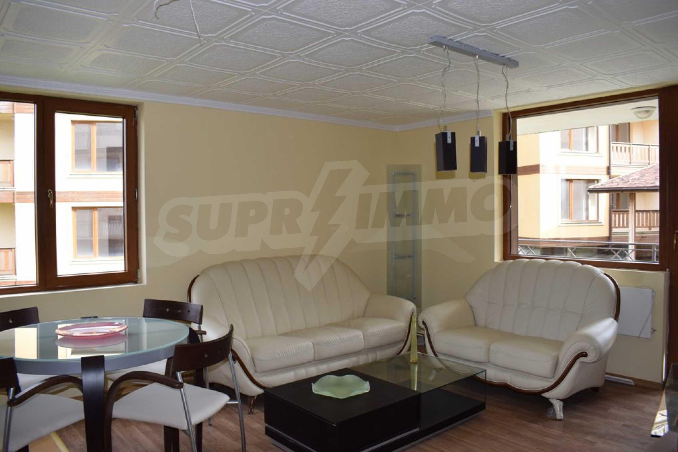 Двустаен, напъно обзаведен апартамент в Банско 2