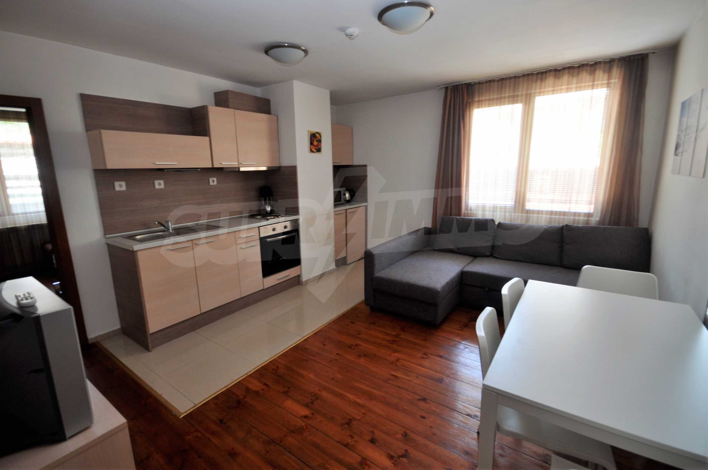 One bedroom apartment meters from the lift in the town of Bansko