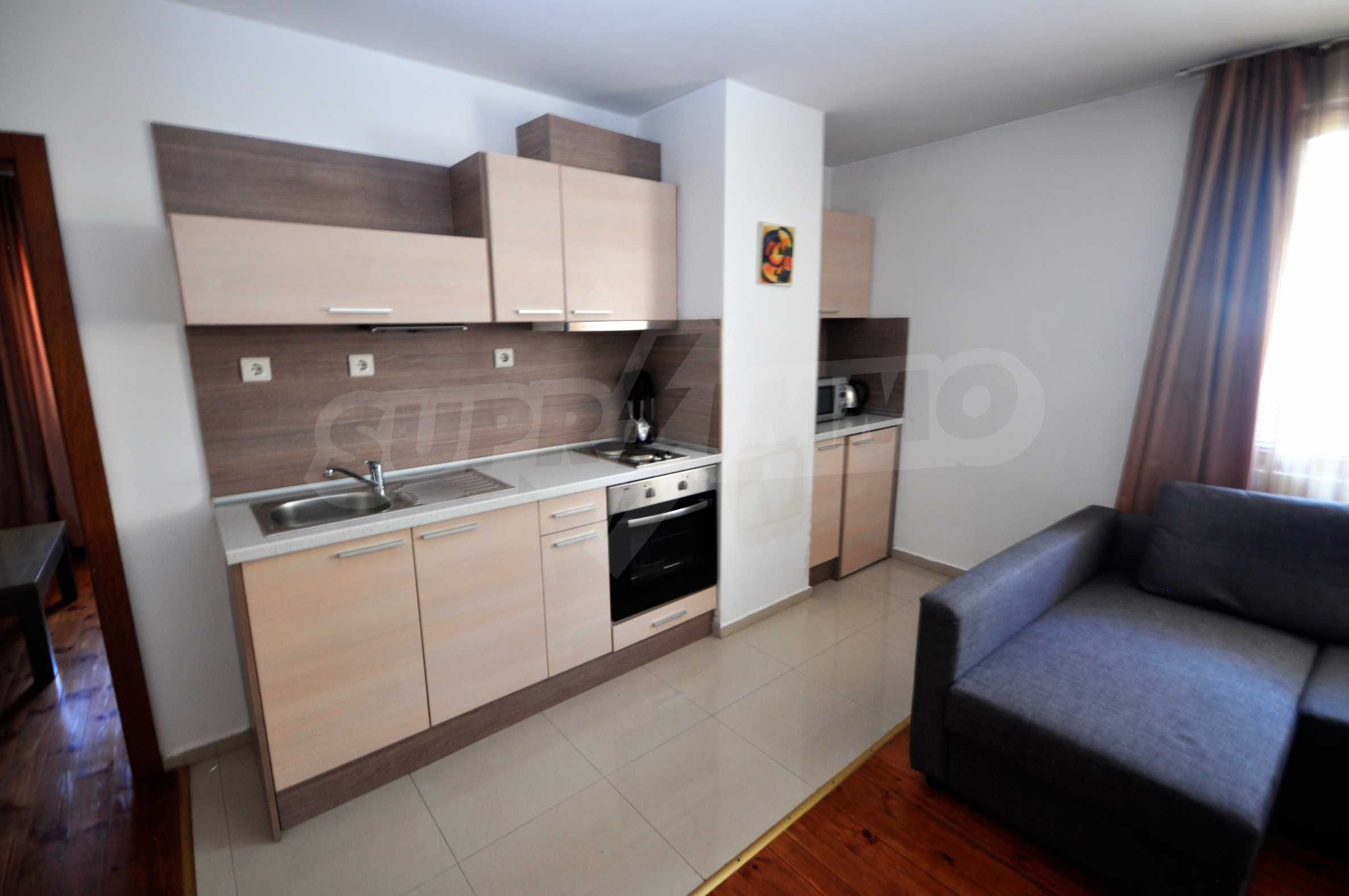 One bedroom apartment meters from the lift in the town of Bansko 1