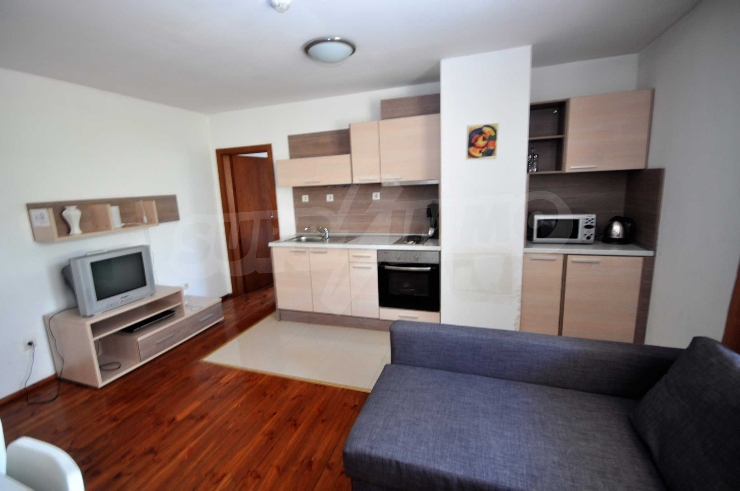 One bedroom apartment meters from the lift in the town of Bansko 2
