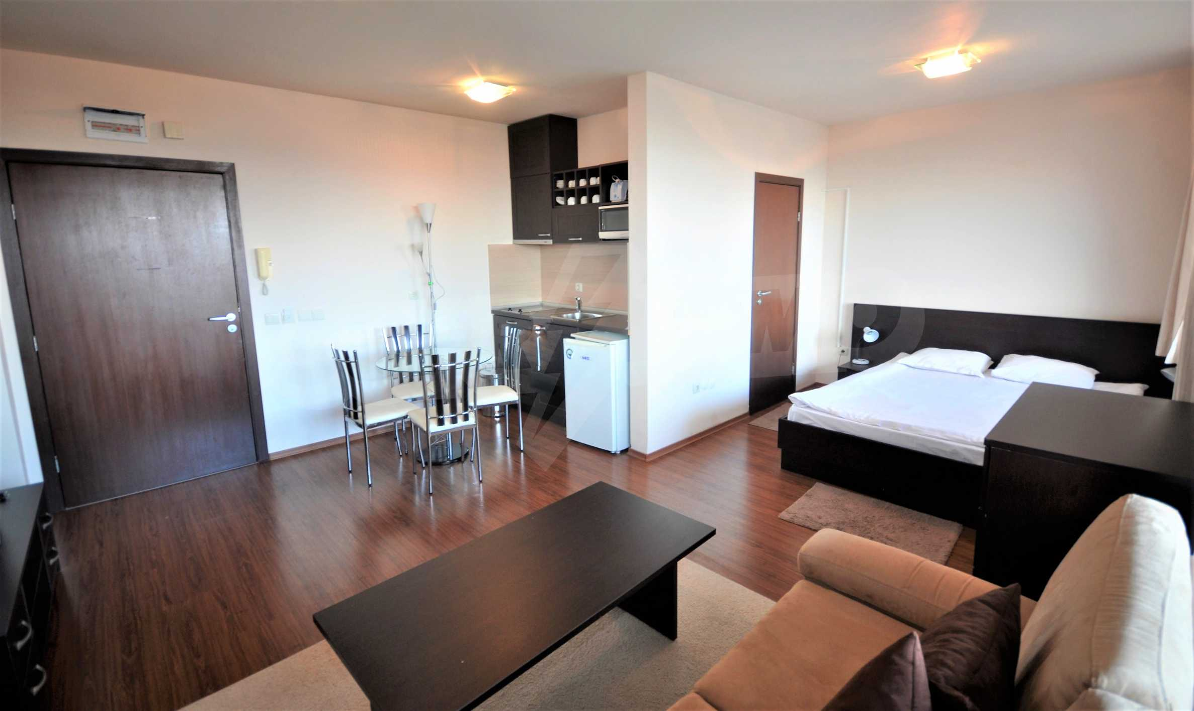 Furnished studio only meters away from the ski lift in Bansko