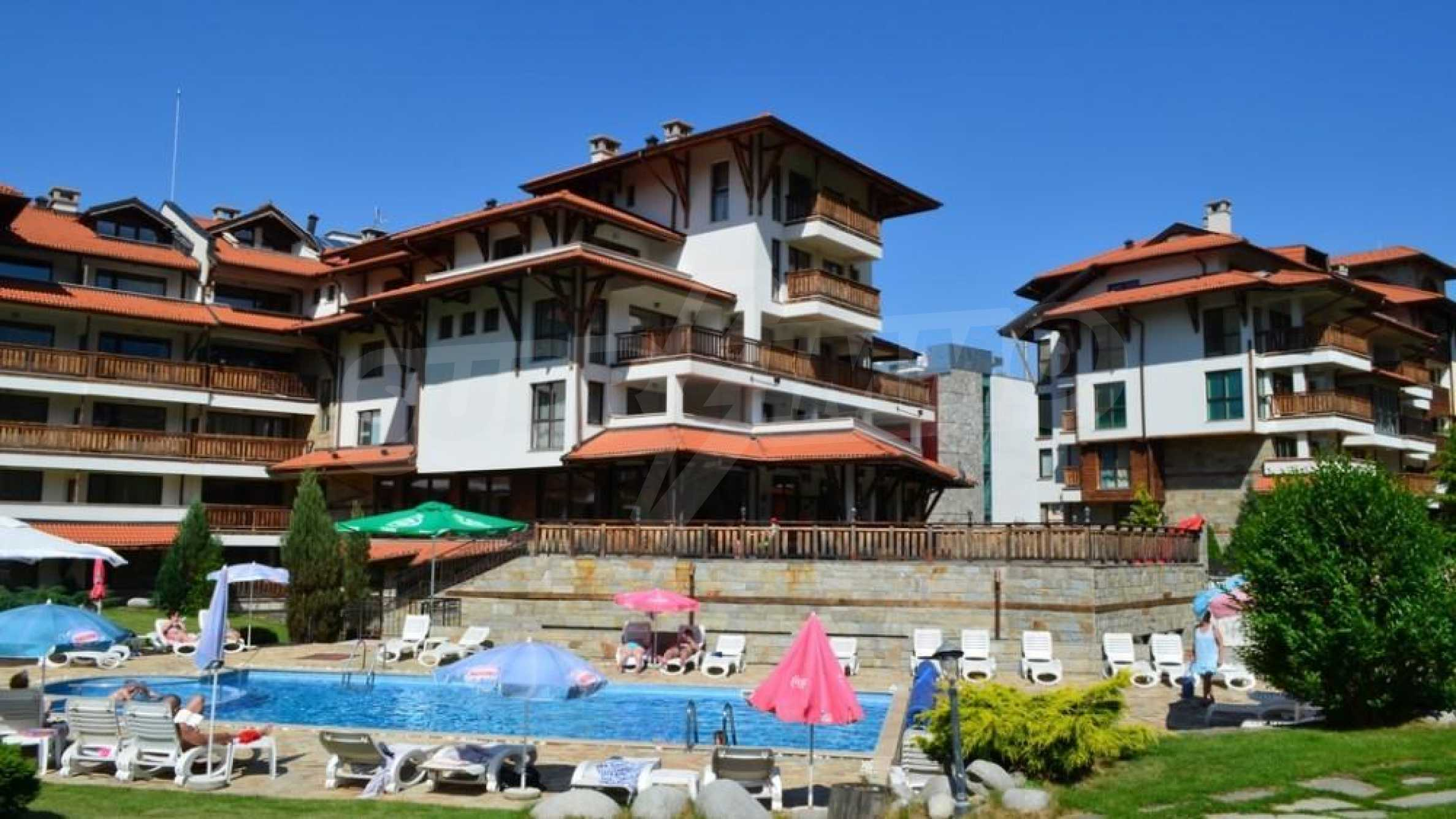 Furnished studio only meters away from the ski lift in Bansko 9